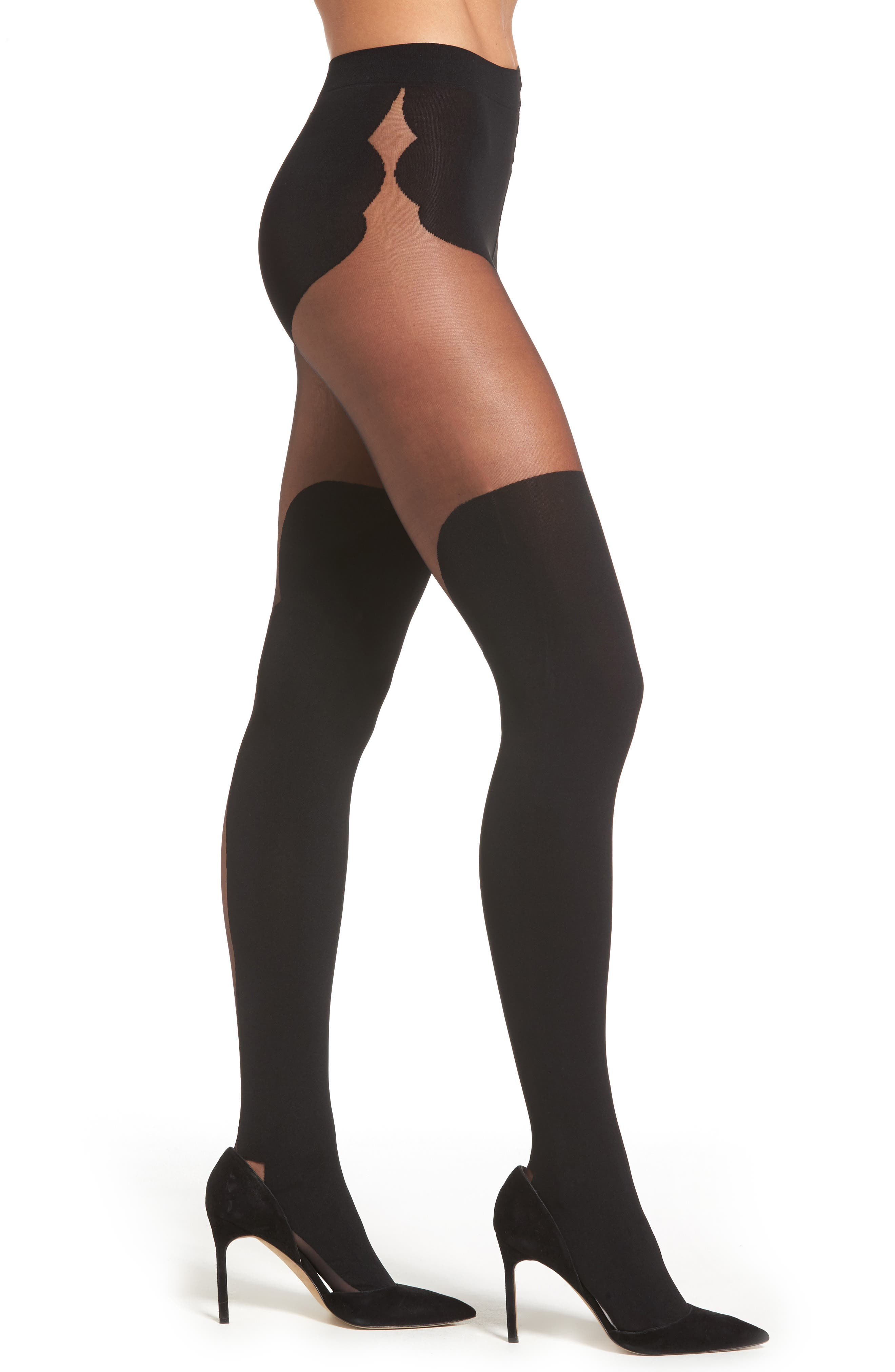 Alternate Image 1 Selected - Oroblu Madelyn Tights