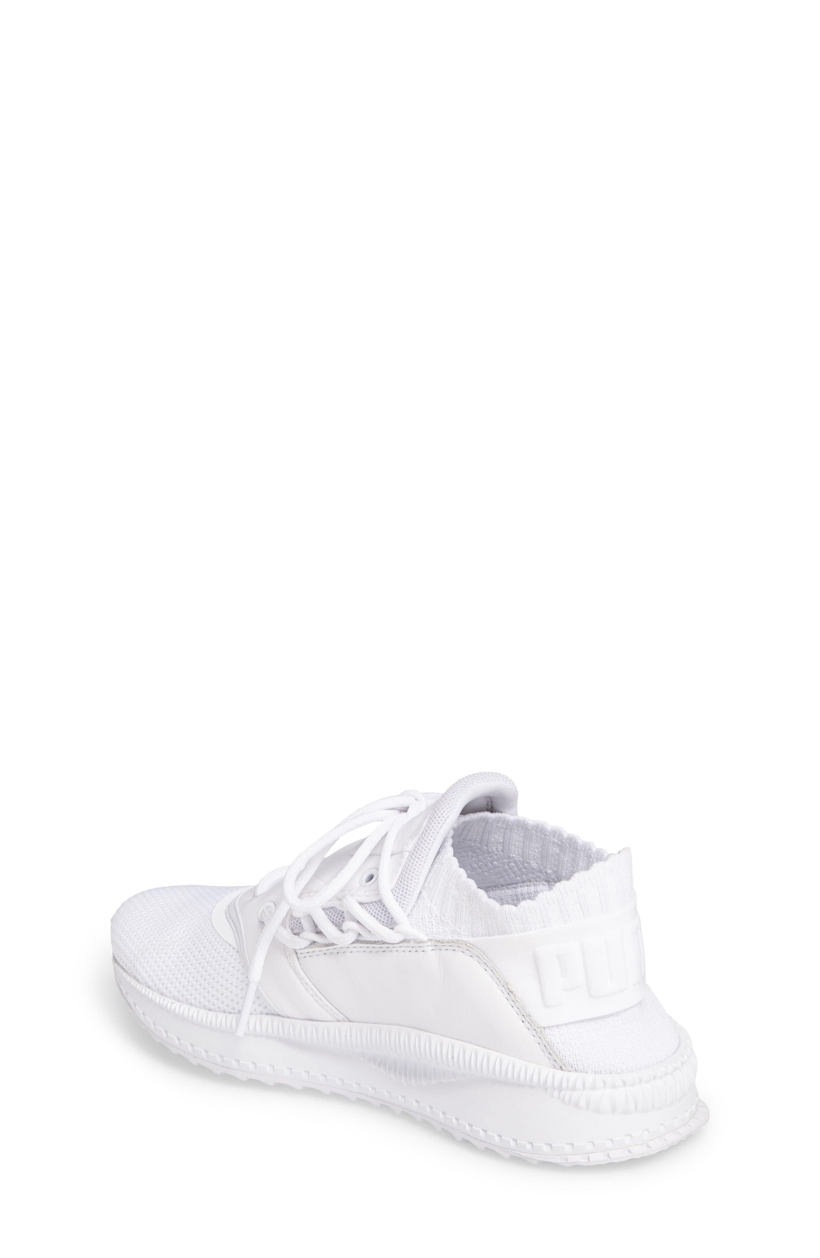 Tsugi Shinsei Jr Training Shoe,                             Alternate thumbnail 2, color,                             White