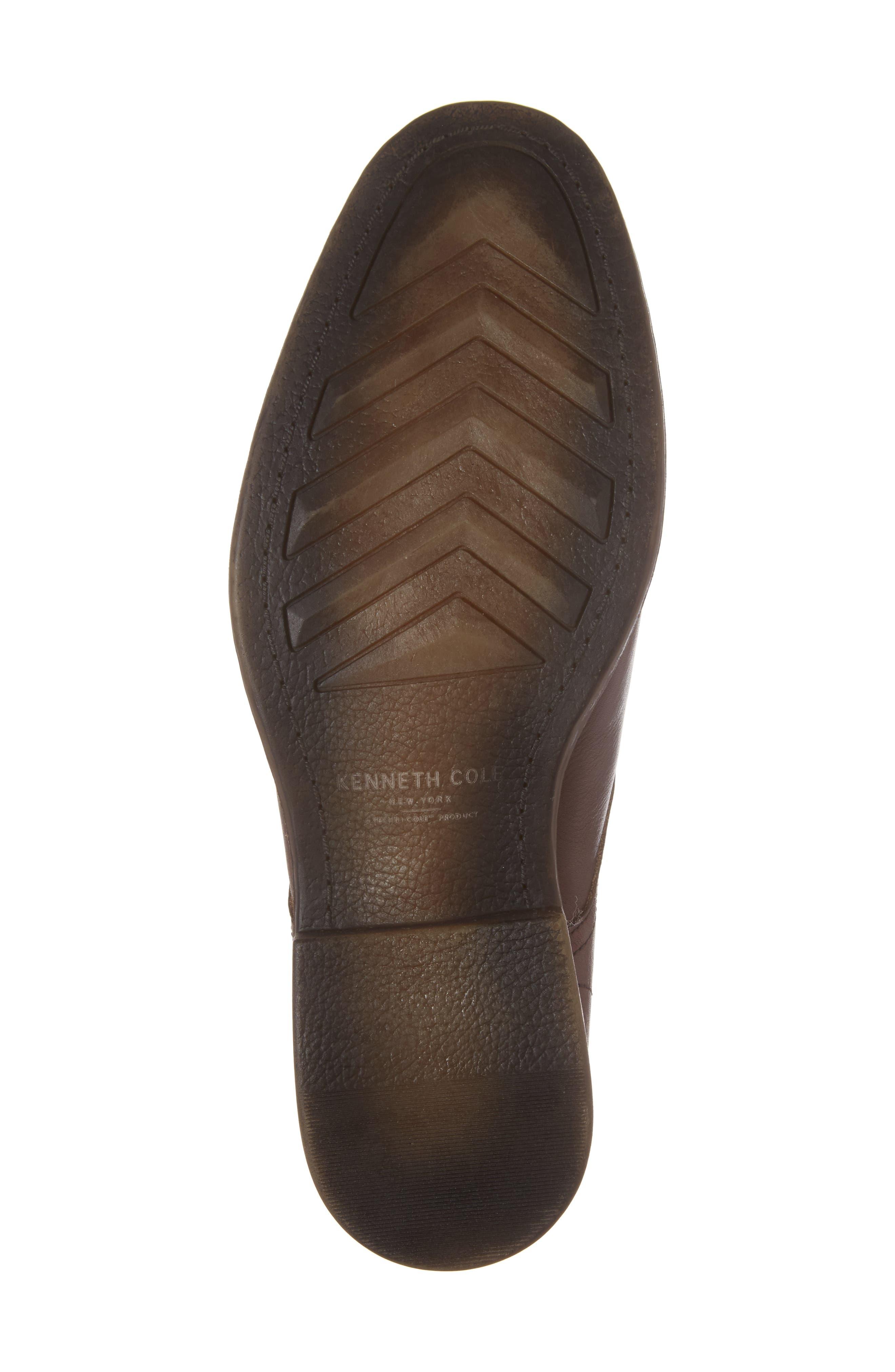 Cap Toe Derby,                             Alternate thumbnail 6, color,                             Cognac Leather