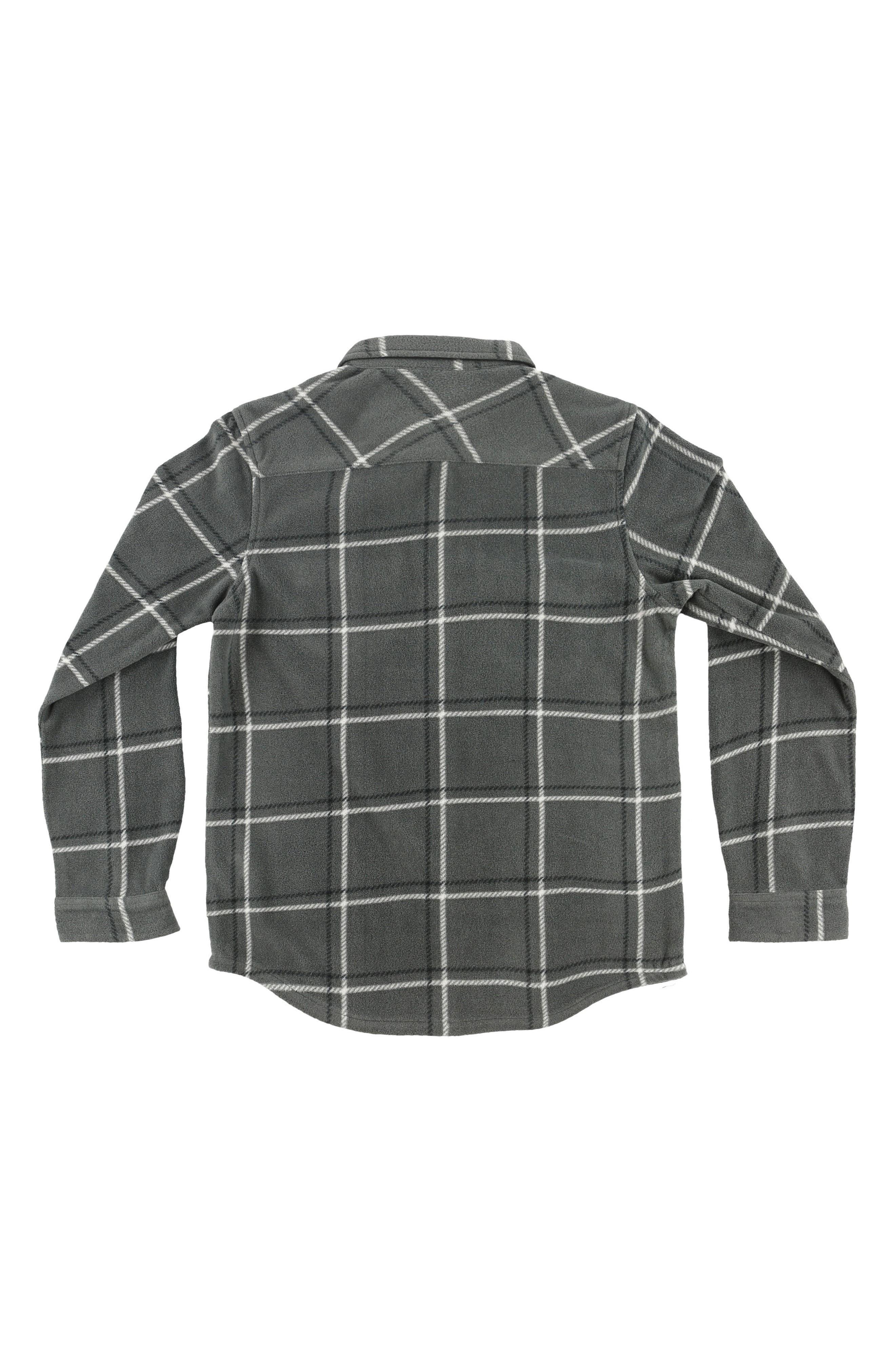 Alternate Image 2  - O'Neill Glacier Series Two Plush Windowpane Shirt (Toddler Boys)
