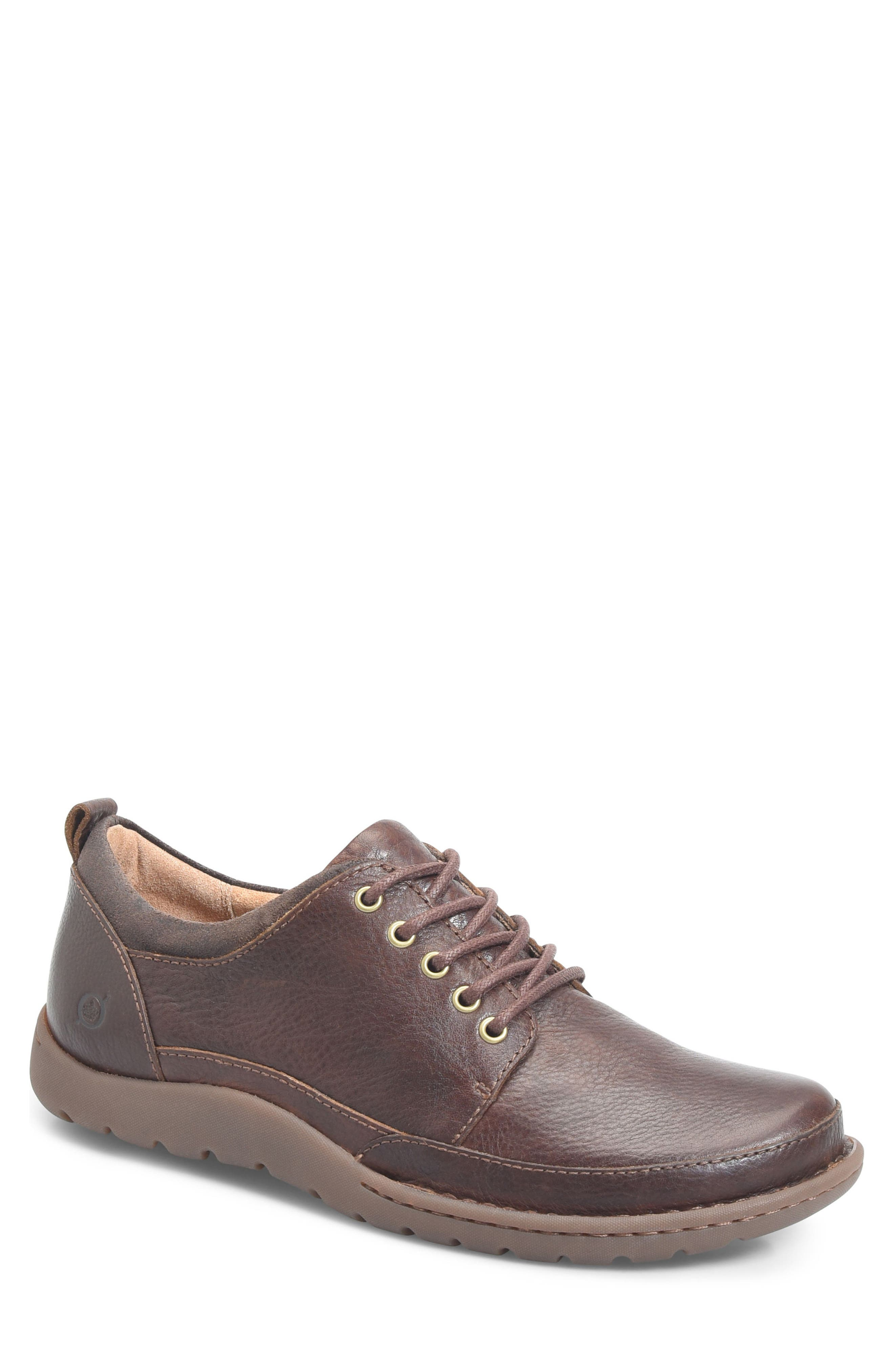 Nigel Moc Toe Derby,                             Main thumbnail 1, color,                             Brown