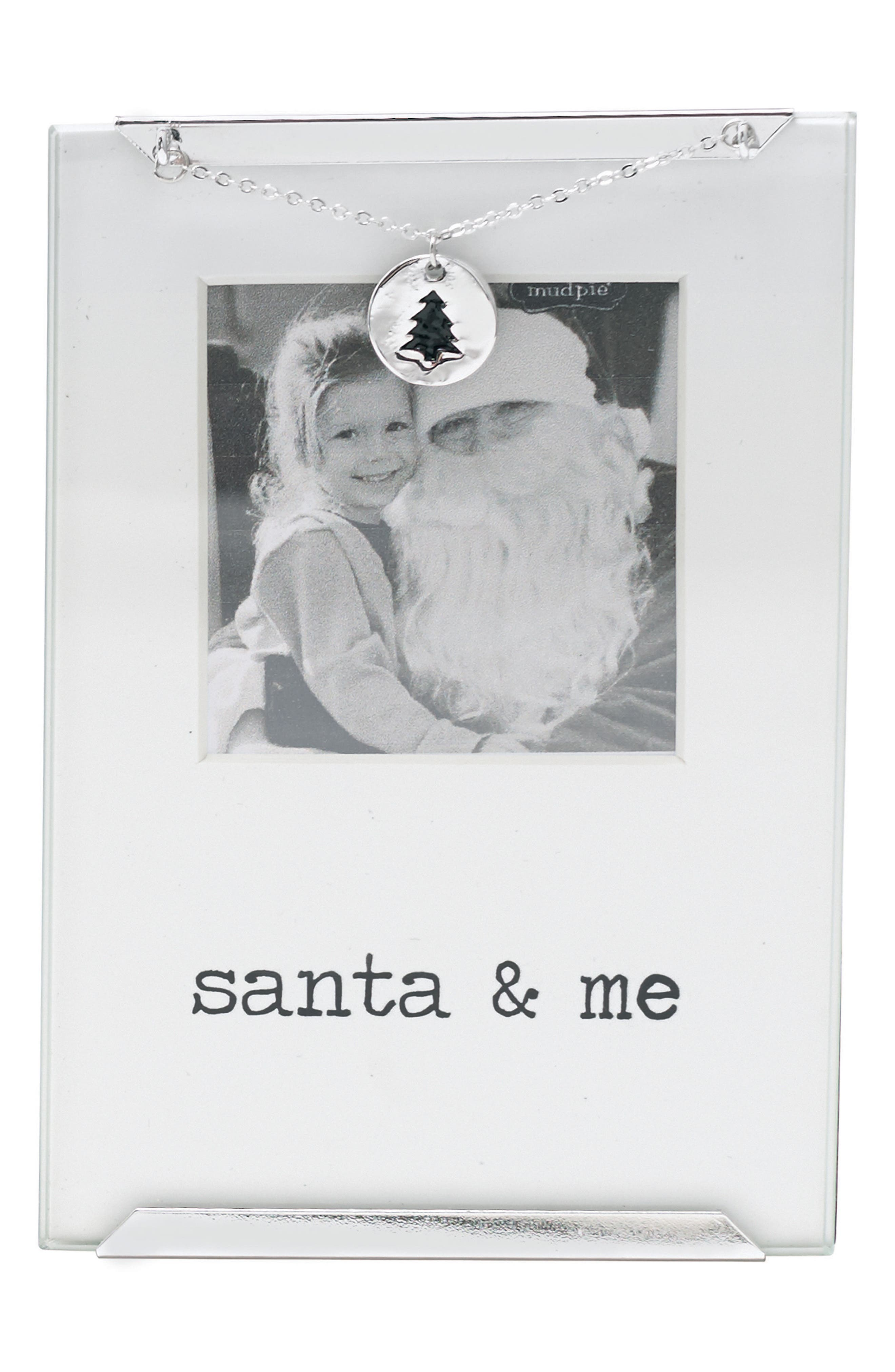 Mud Pie Santa & Me Photo Frame