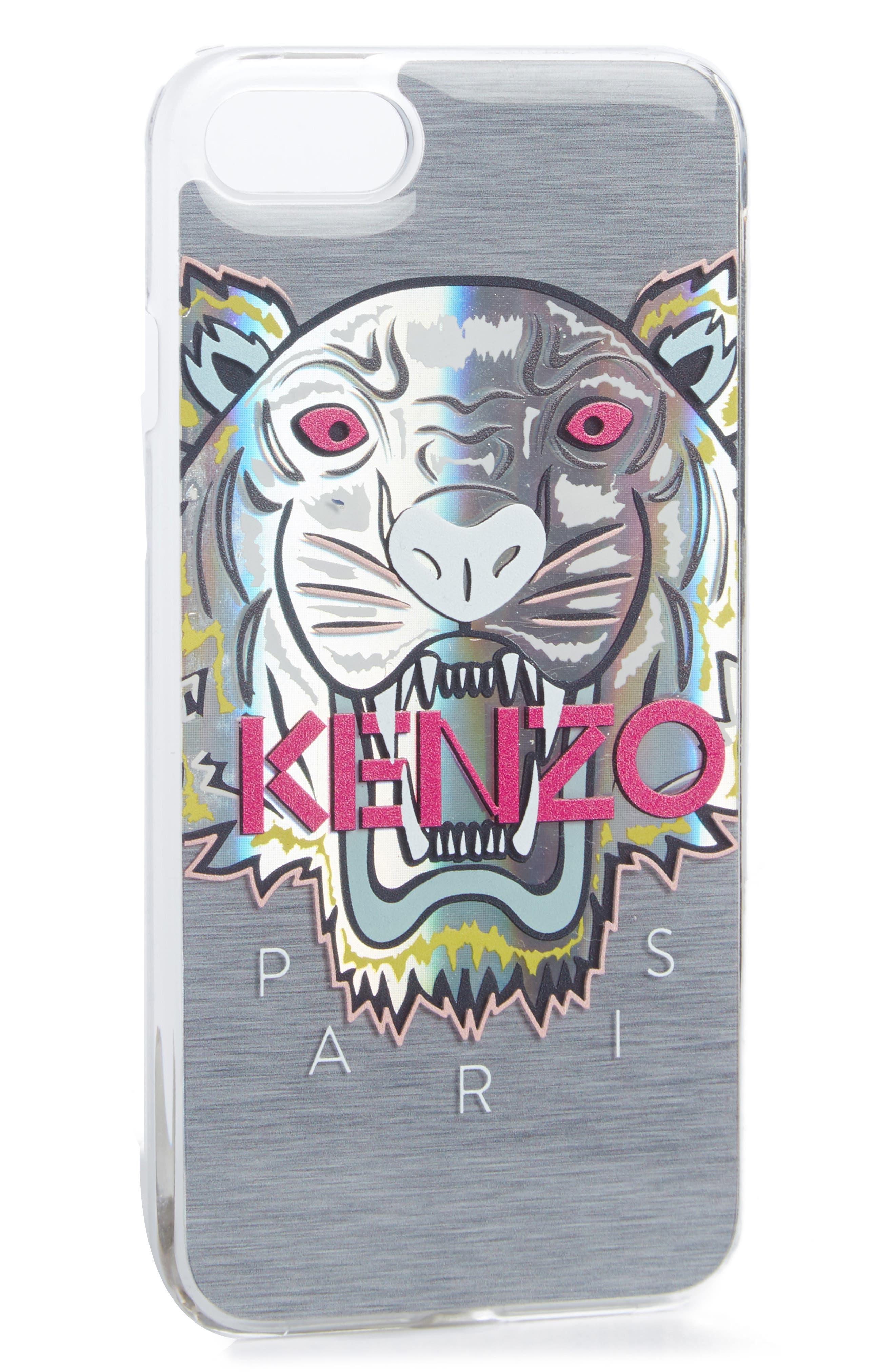 KENZO Tiger Hologram iPhone 7+ Case