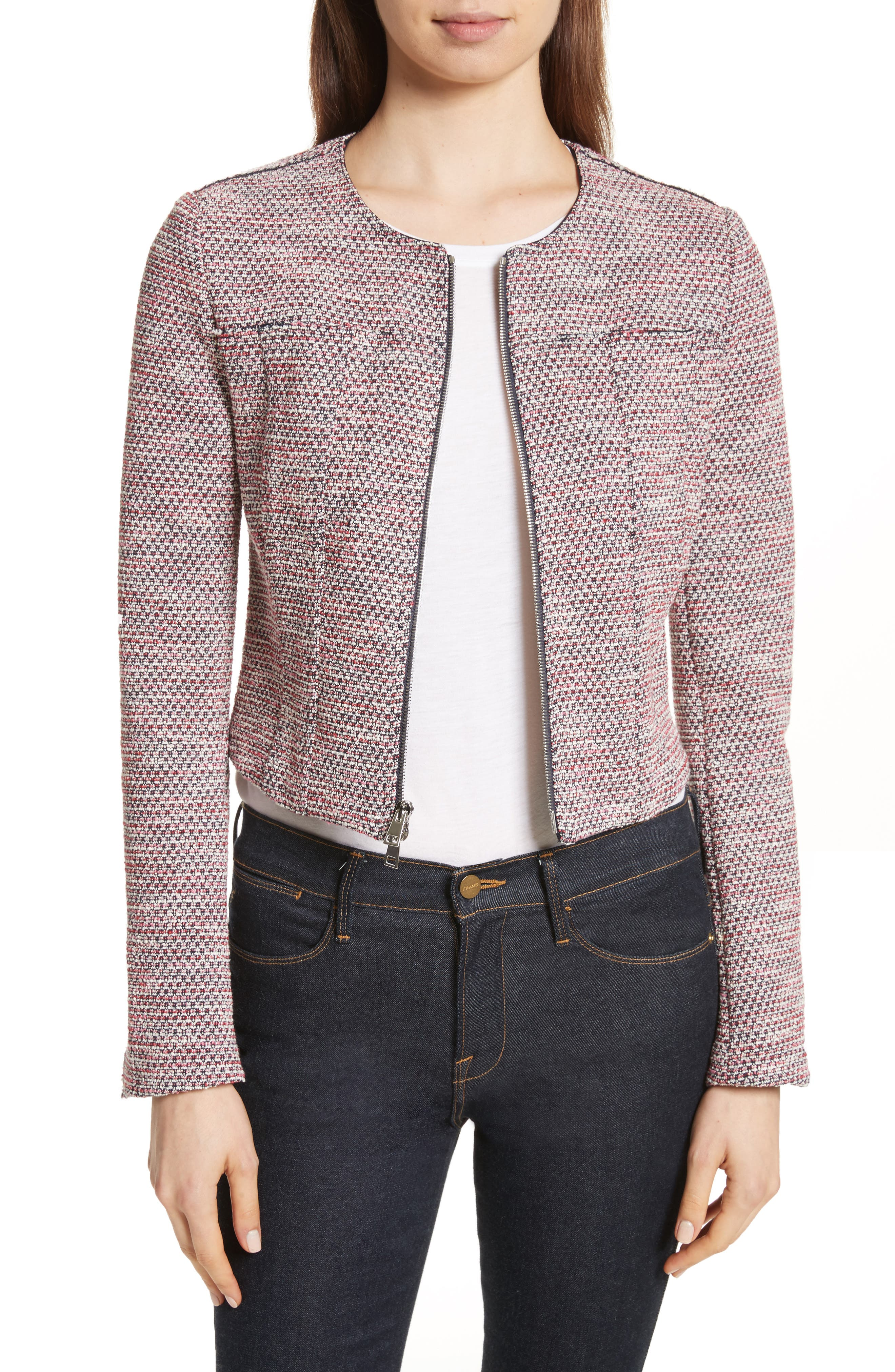 Main Image - Theory Ualana Z Beacon Tweed Jacket