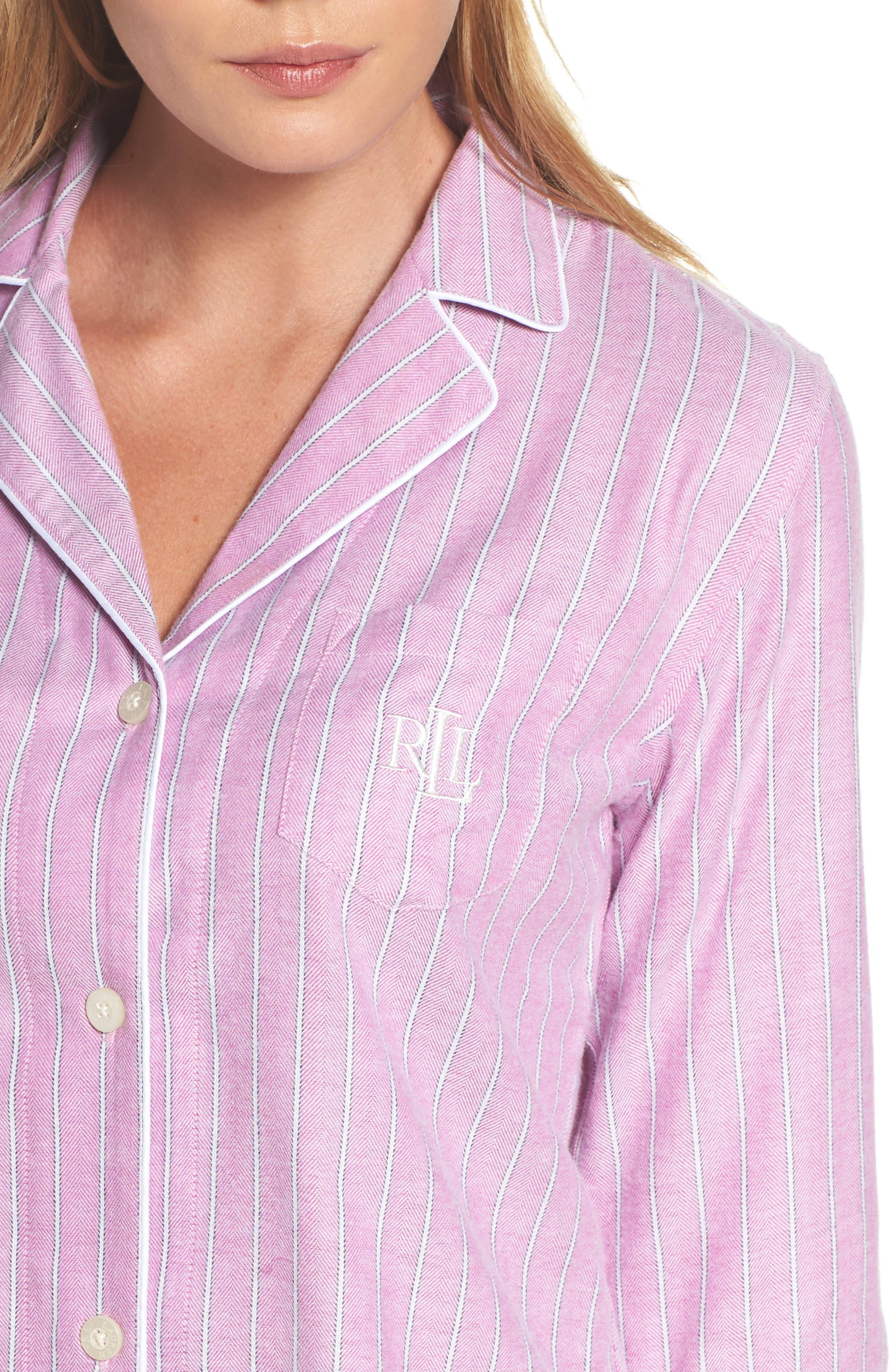 Alternate Image 5  - Lauren Ralph Lauren Short Pajamas
