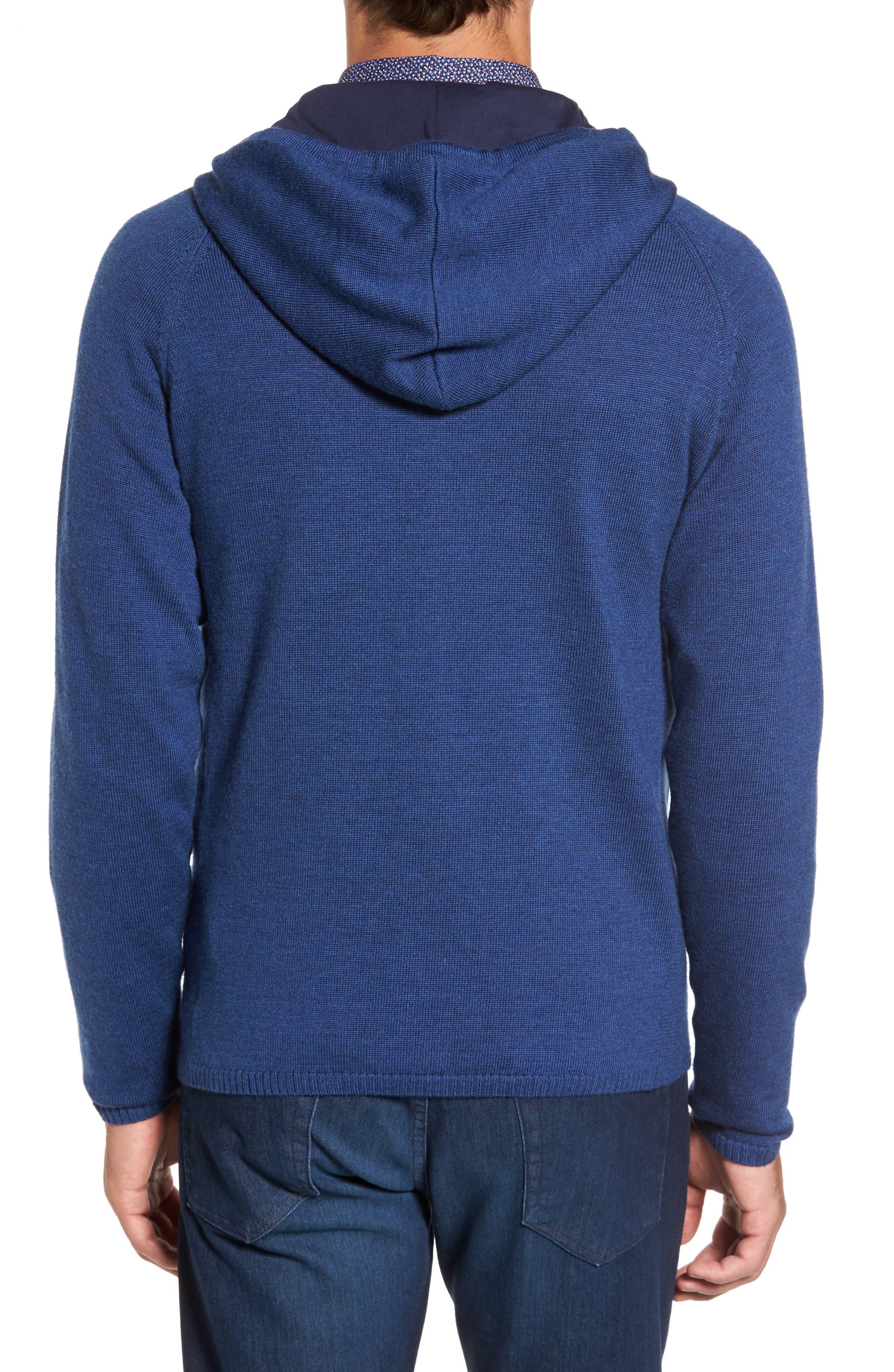 Alternate Image 2  - Rodd & Gunn Grand Vue Hooded Zip Front Knit Sweater