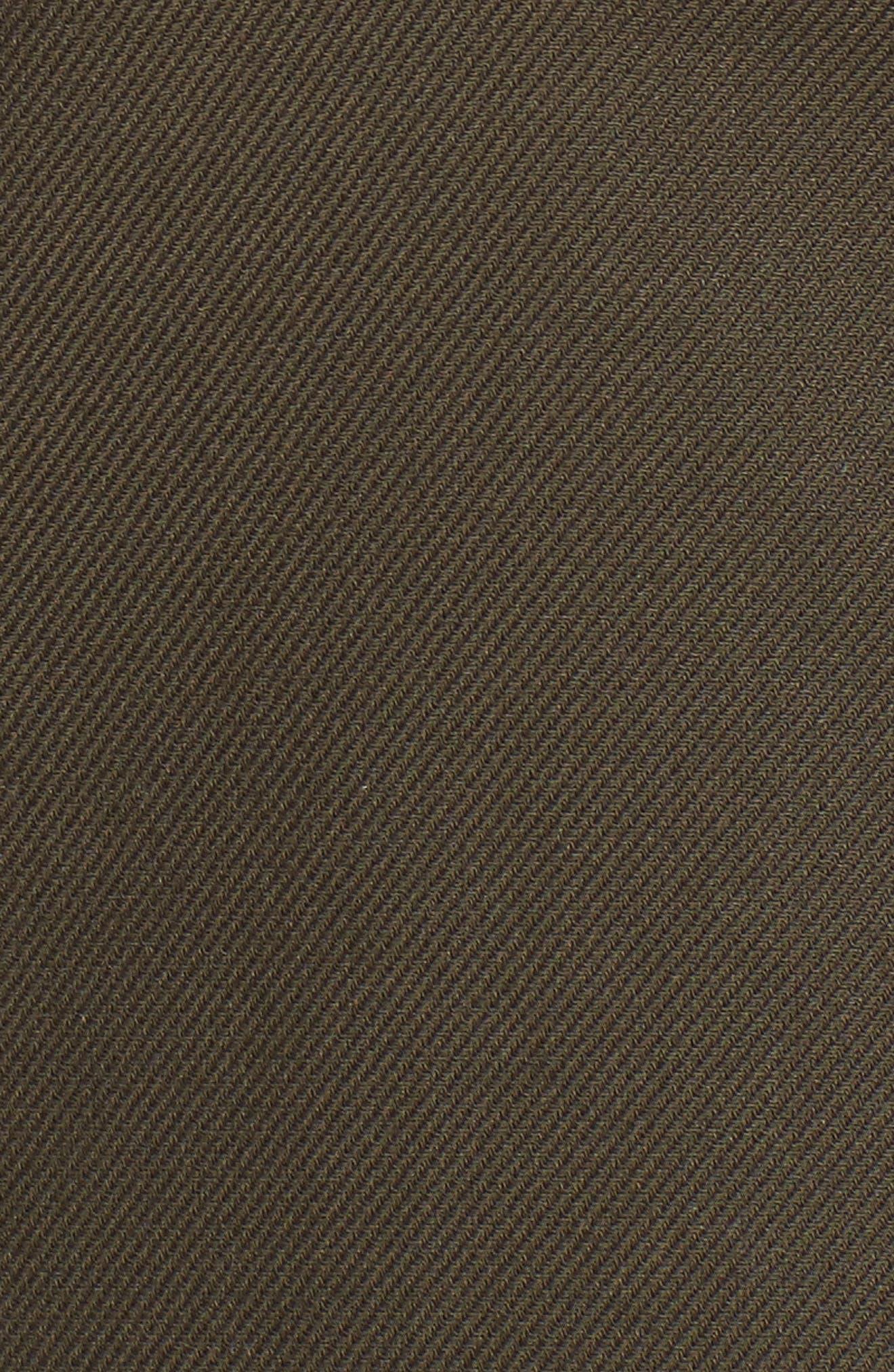 Alternate Image 5  - Nordstrom Signature Velvet Back Utility Jacket