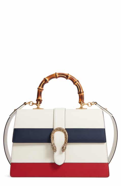 c804328c85a Gucci Large Dionysus Top Handle Leather Shoulder Bag