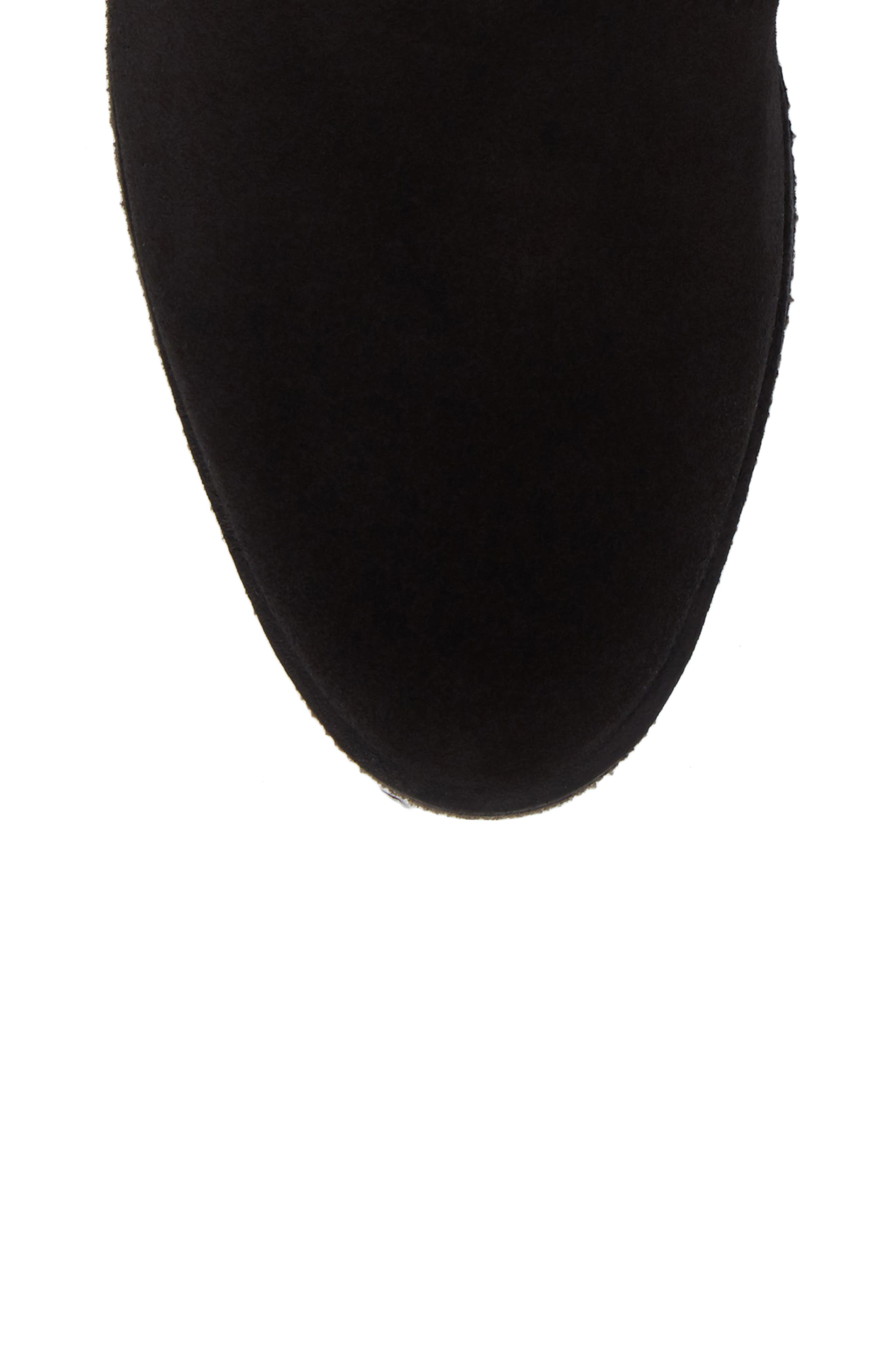 Bristol Bootie,                             Alternate thumbnail 5, color,                             Black Leather