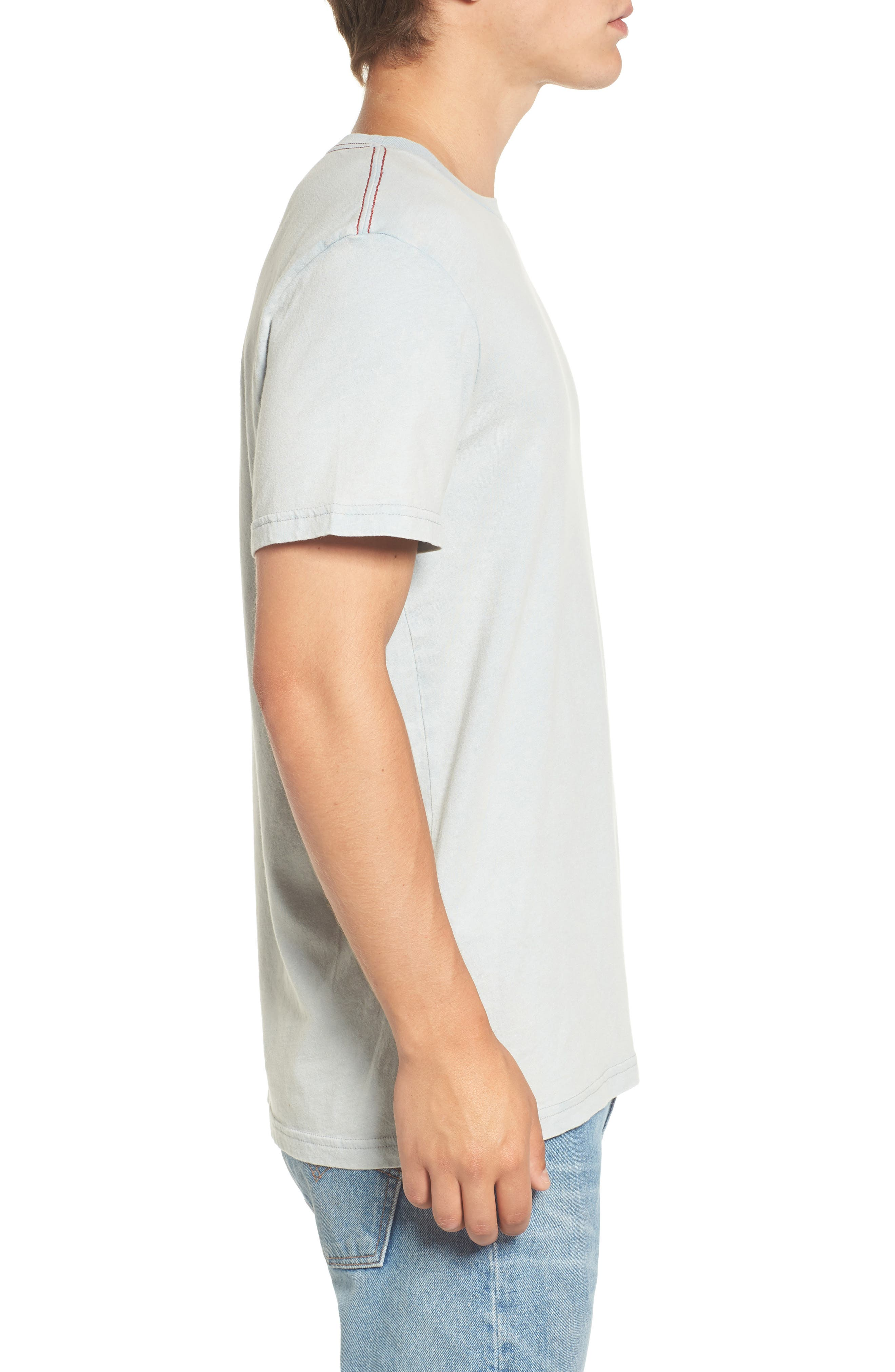 Alternate Image 3  - RVCA Small Logo Graphic T-Shirt
