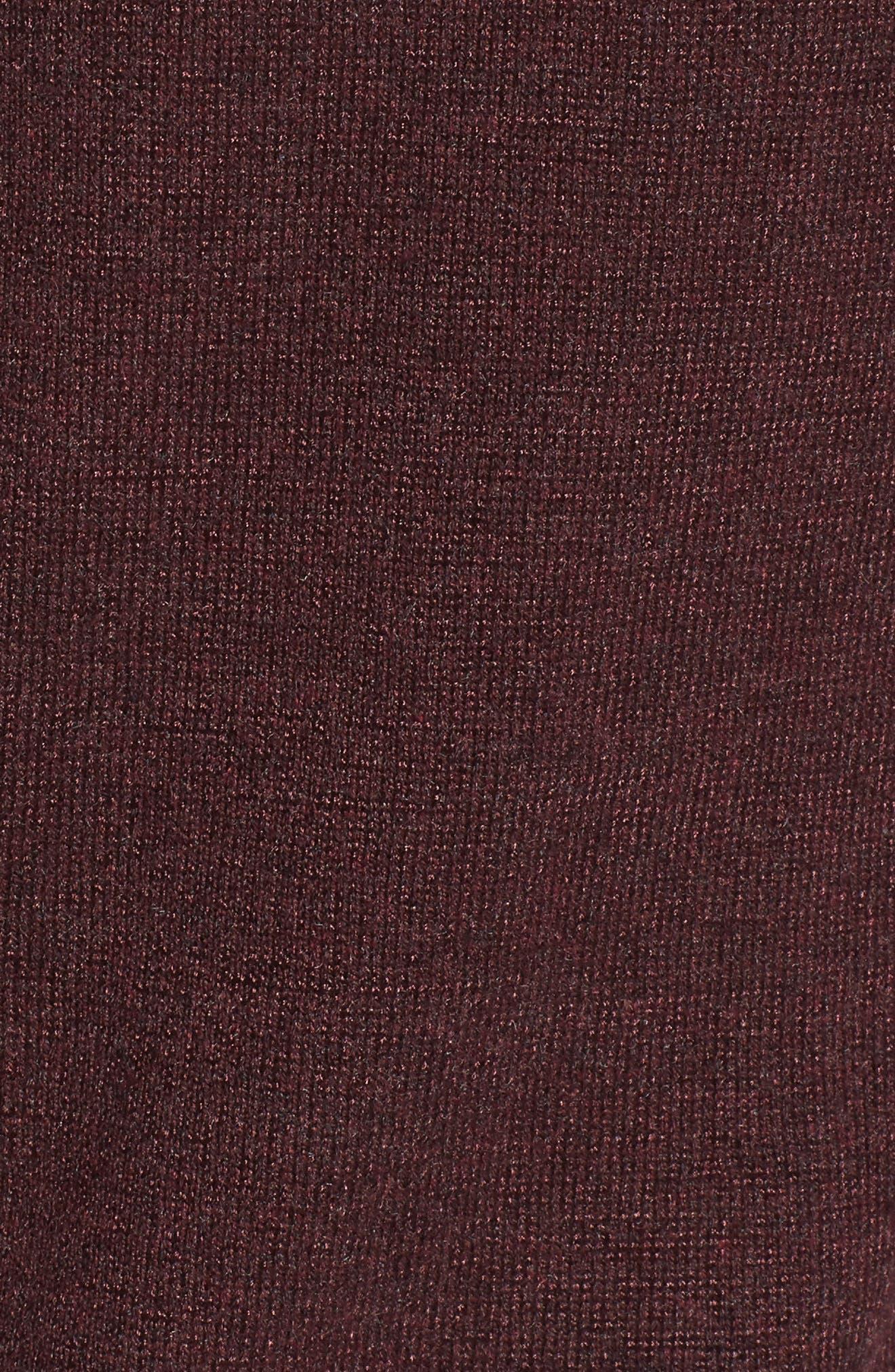 Alternate Image 5  - NIC+ZOE Jewel Neck Cold Shoulder Top (Regular & Petite)