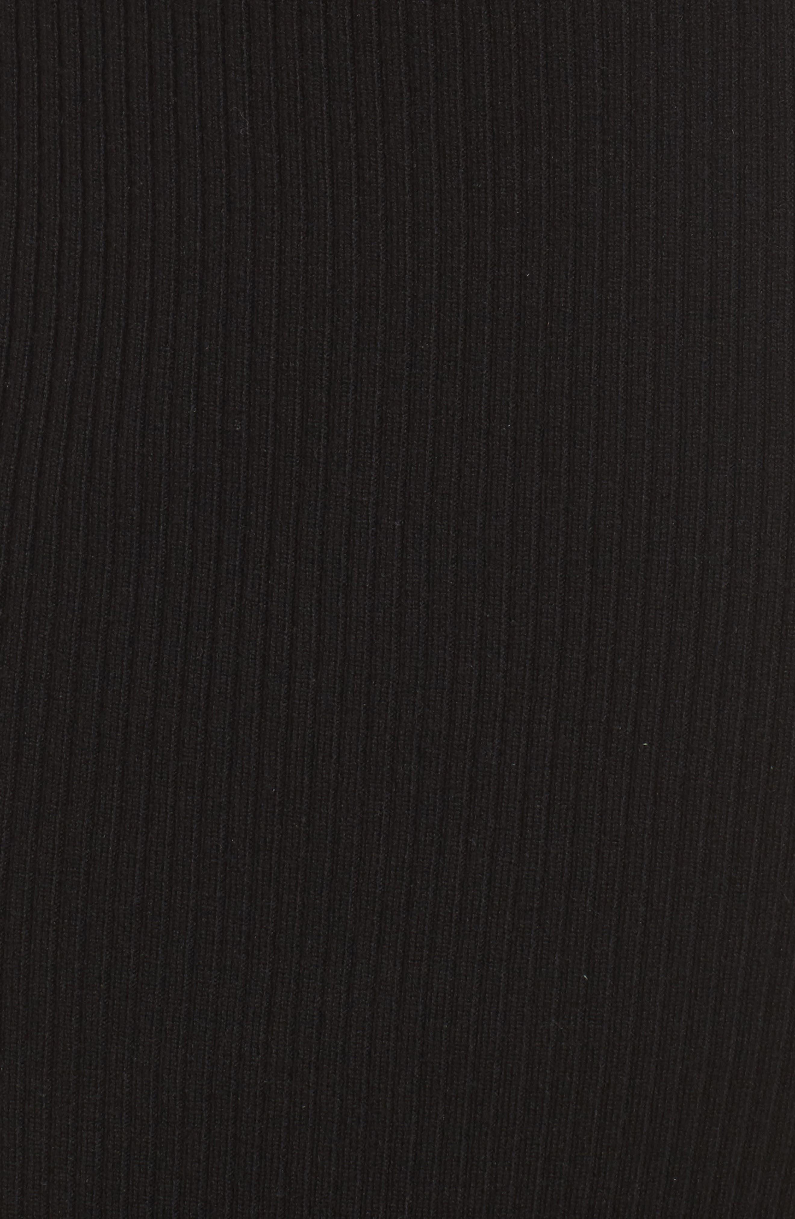 Jules Dress,                             Alternate thumbnail 6, color,                             Black Cat