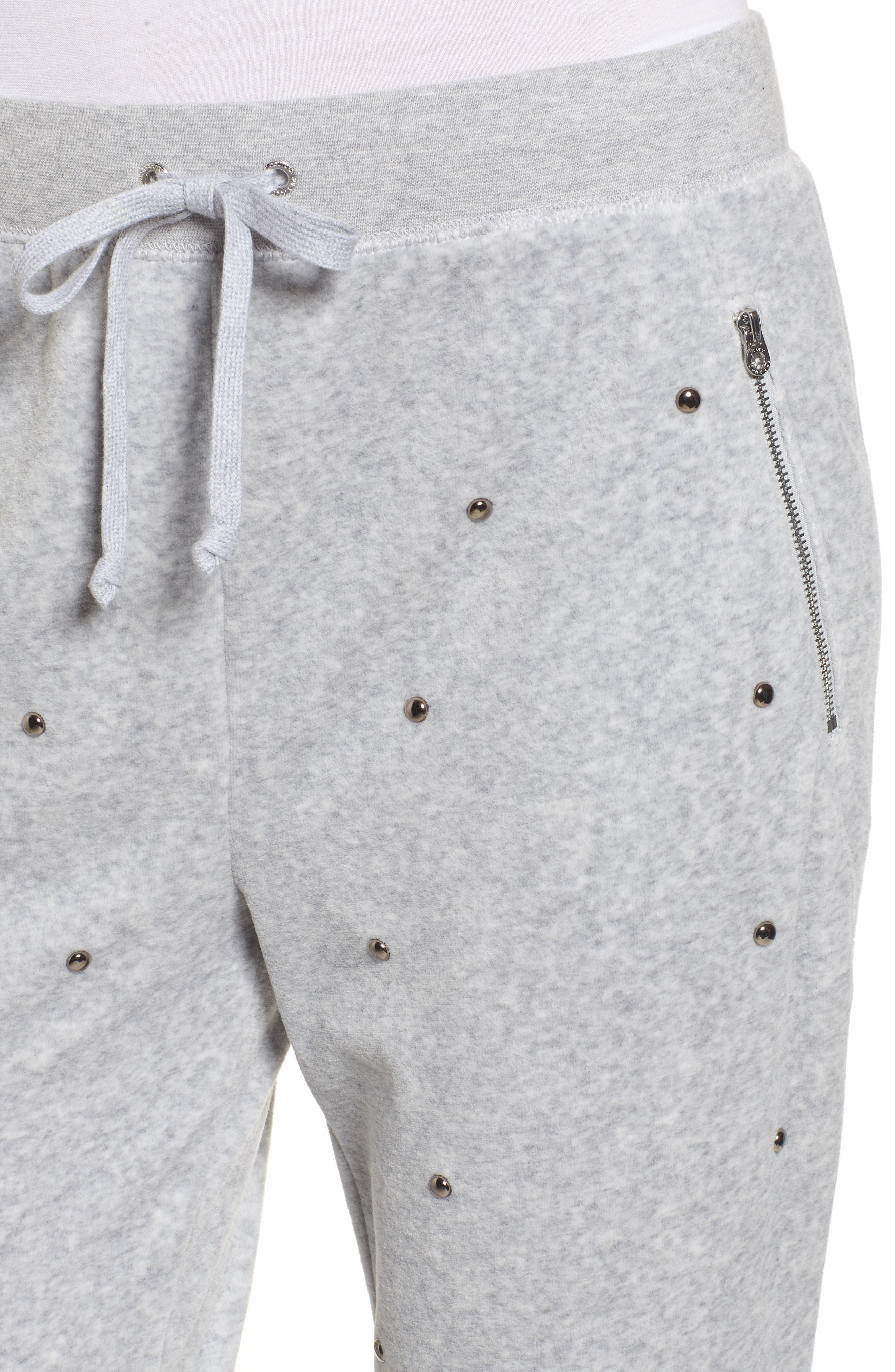 Alternate Image 4  - Juicy Couture Velour Studded Track Pants