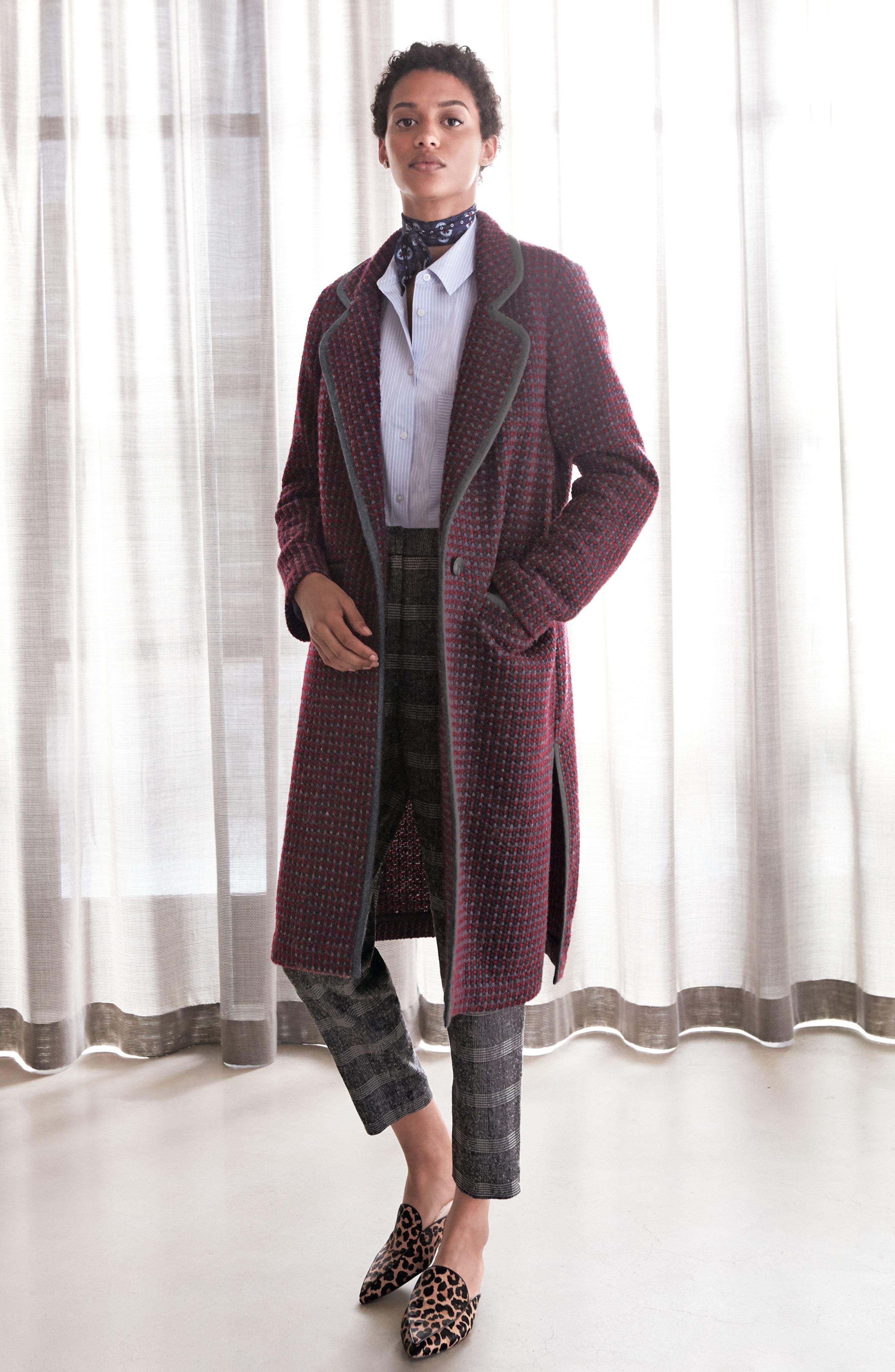 Alternate Image 3  - Diane Von Furstenberg Tweed Coat