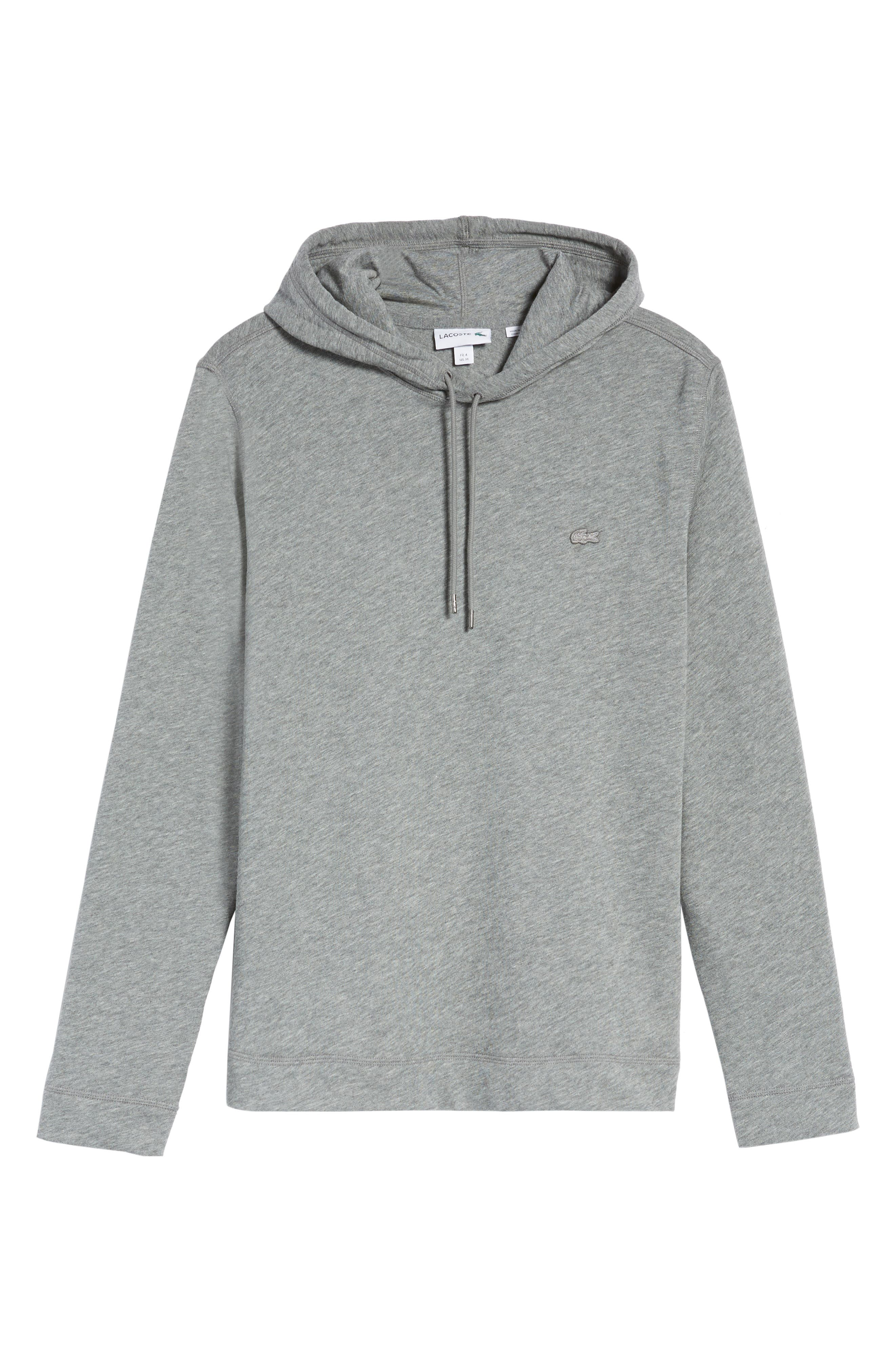 Brushed Fleece Hoodie,                         Main,                         color, Galaxite Chine