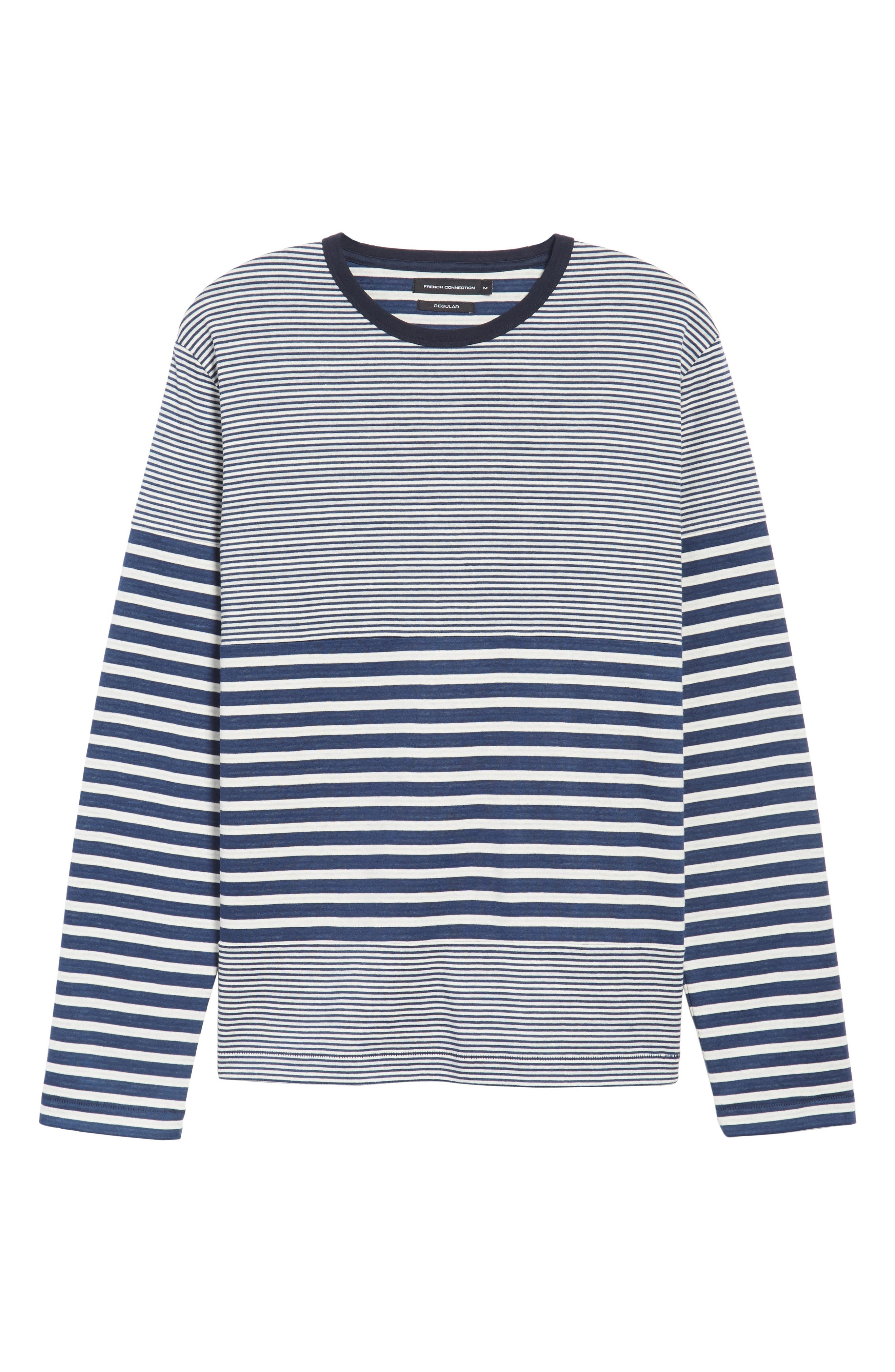 Alternate Image 5  - French Connection Stripe Long Sleeve T-Shirt
