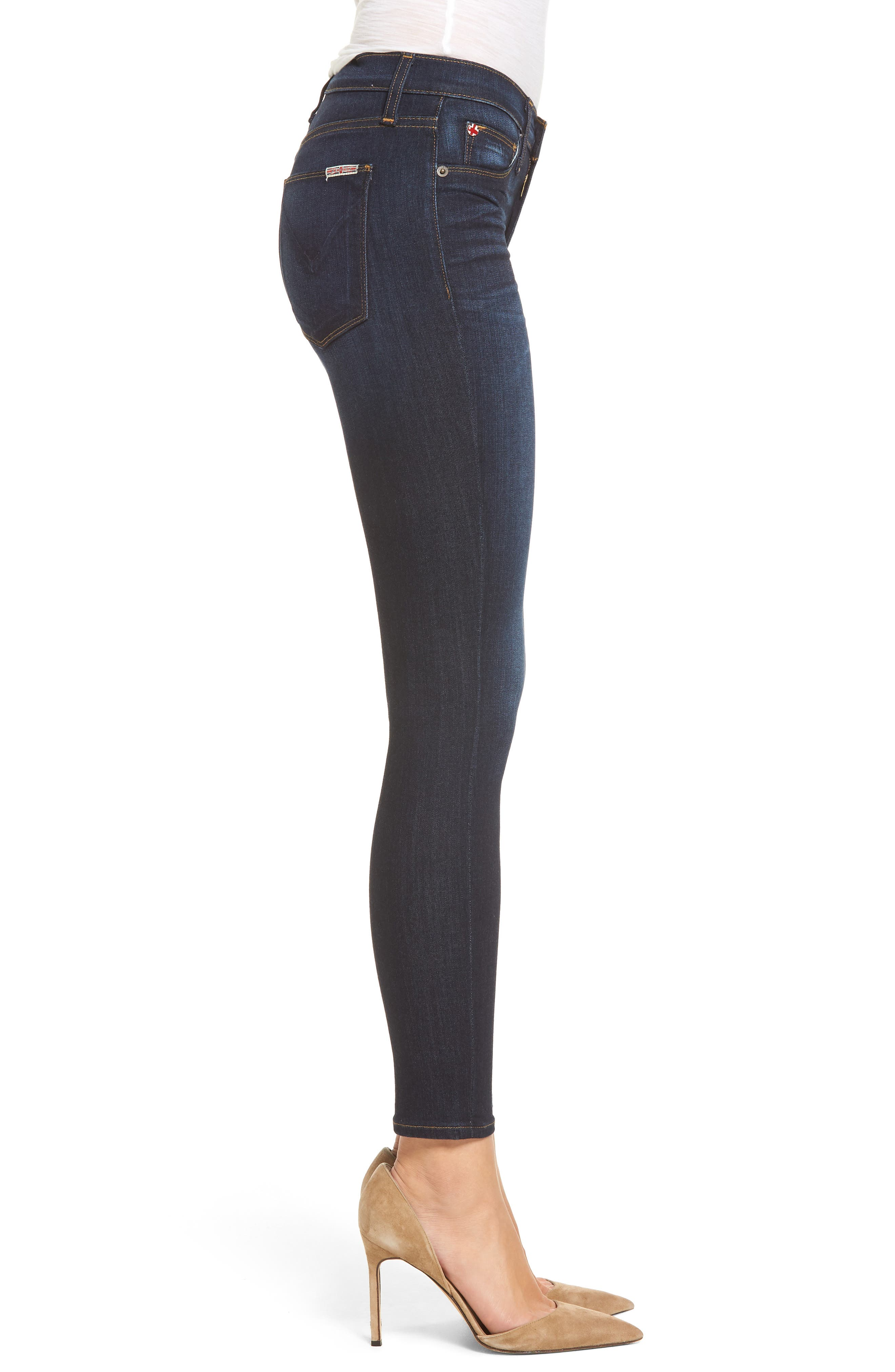 Alternate Image 3  - Hudson Jeans 'Nico' Ankle Super Skinny Jeans (Electrify)