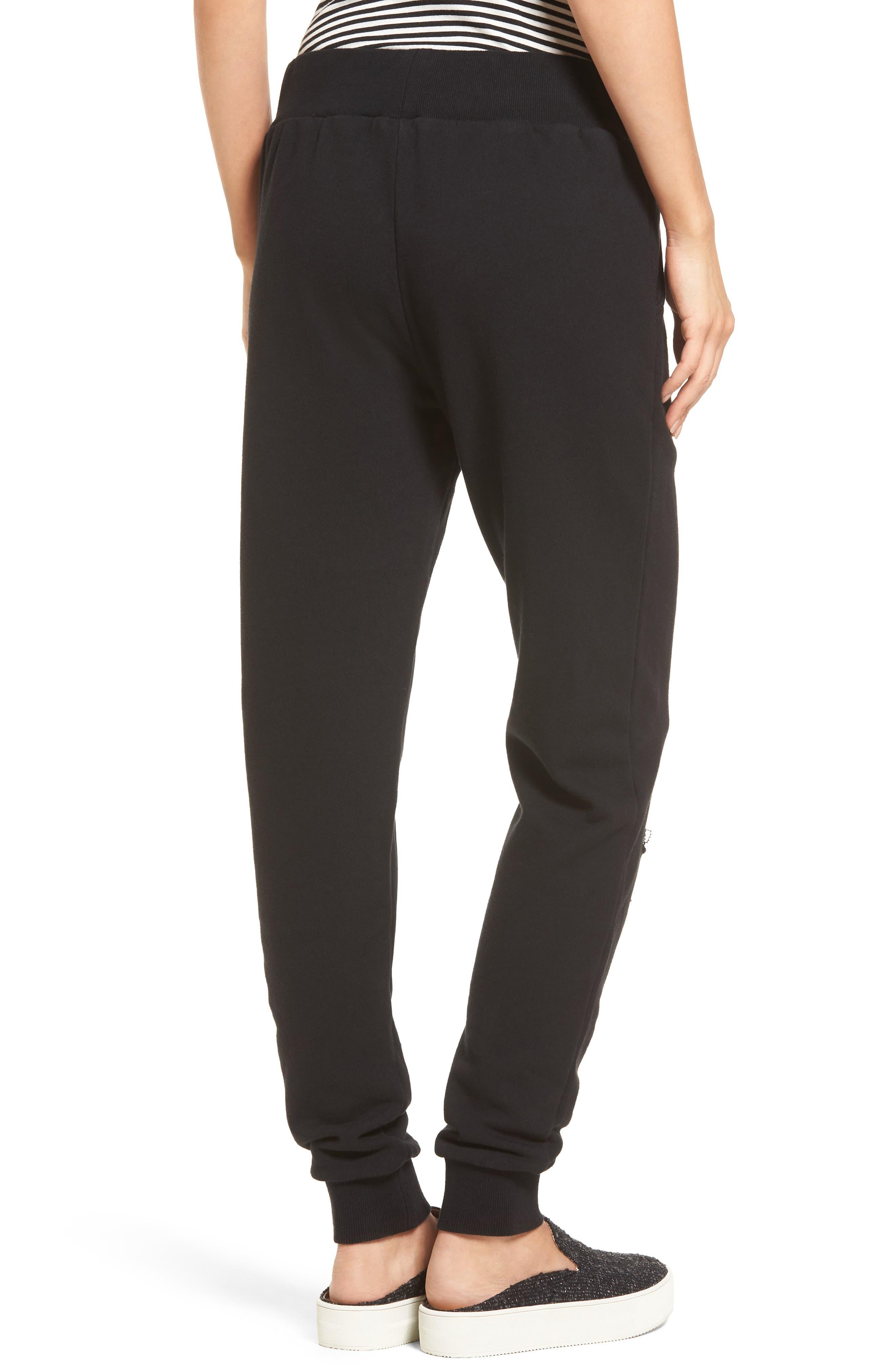 Alternate Image 2  - BP. Distressed Jogger Pants