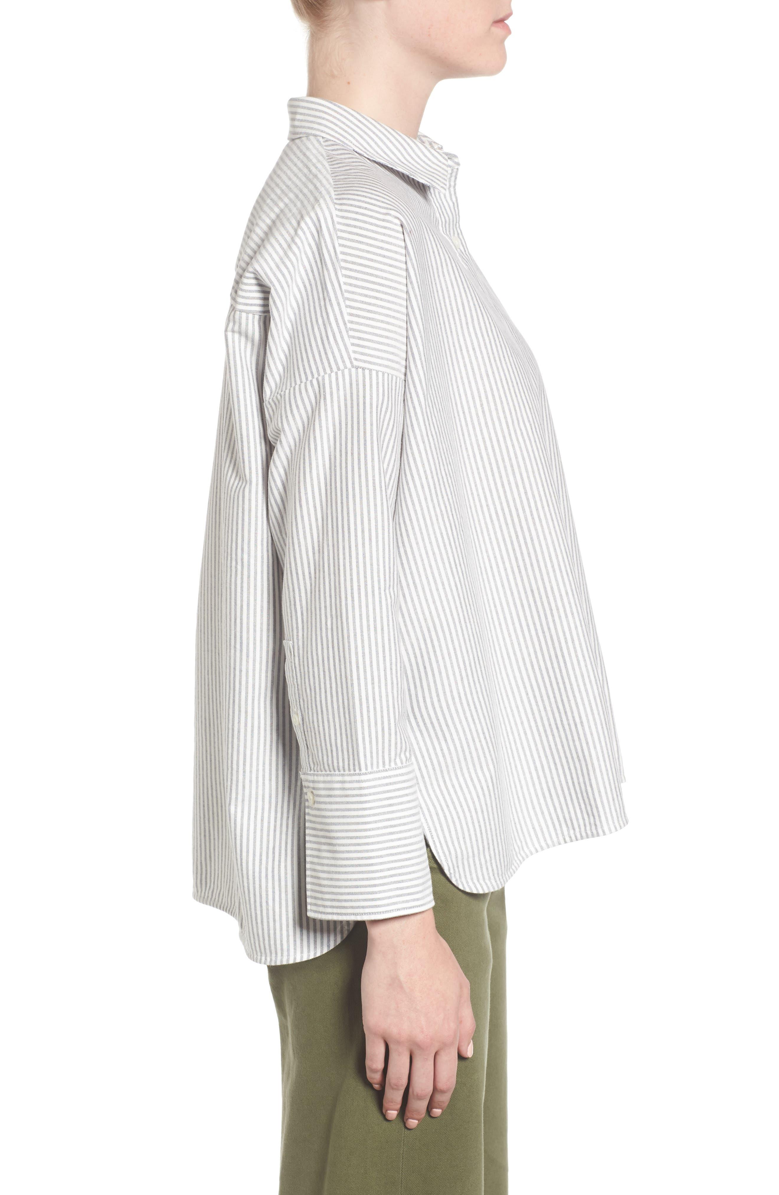 Alternate Image 3  - Everlane The Japanese Oxford Square Shirt