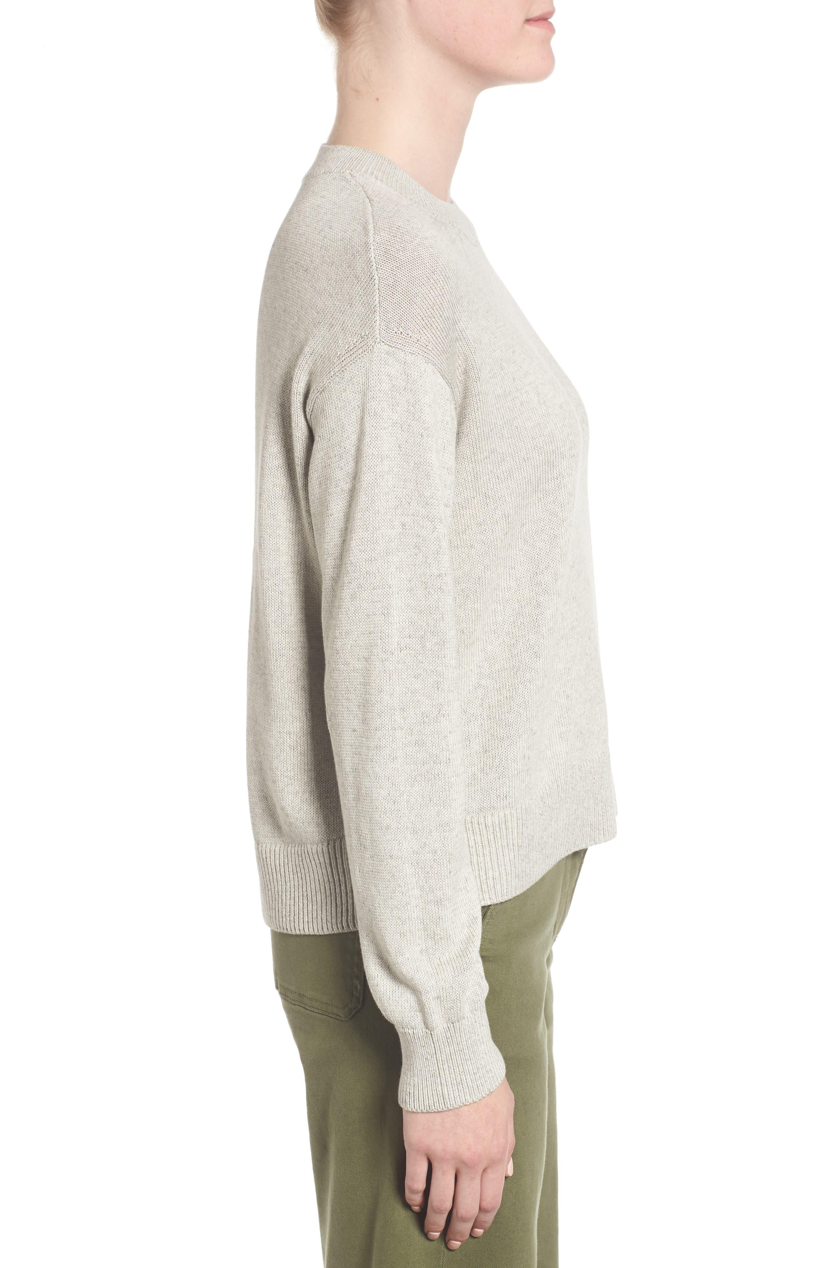Alternate Image 3  - Everlane The Cotton Long Sleeve Crew Sweater