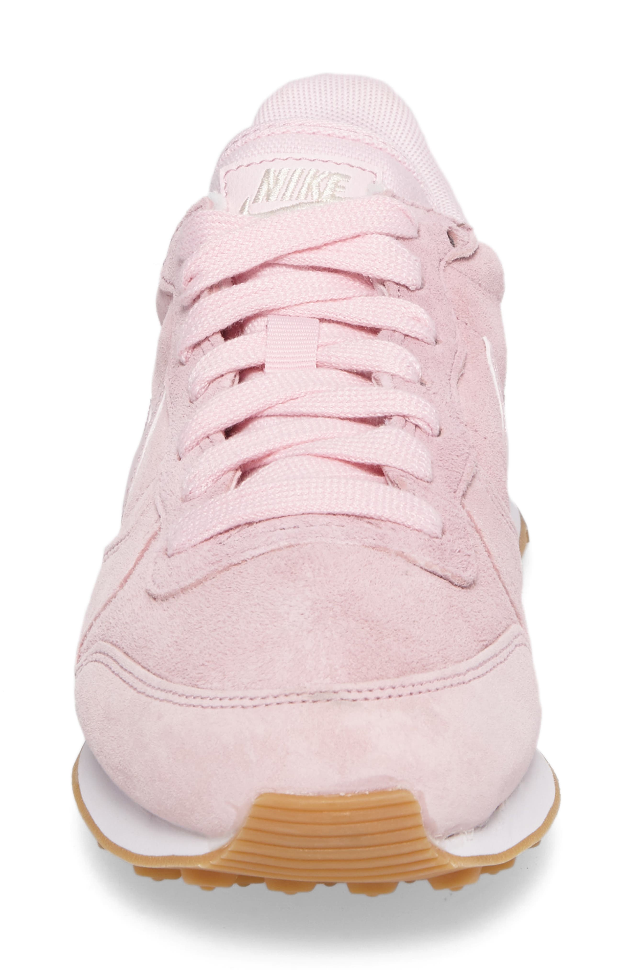 Internationalist SD Sneaker,                             Alternate thumbnail 4, color,                             Prism Pink/ Prism Pink