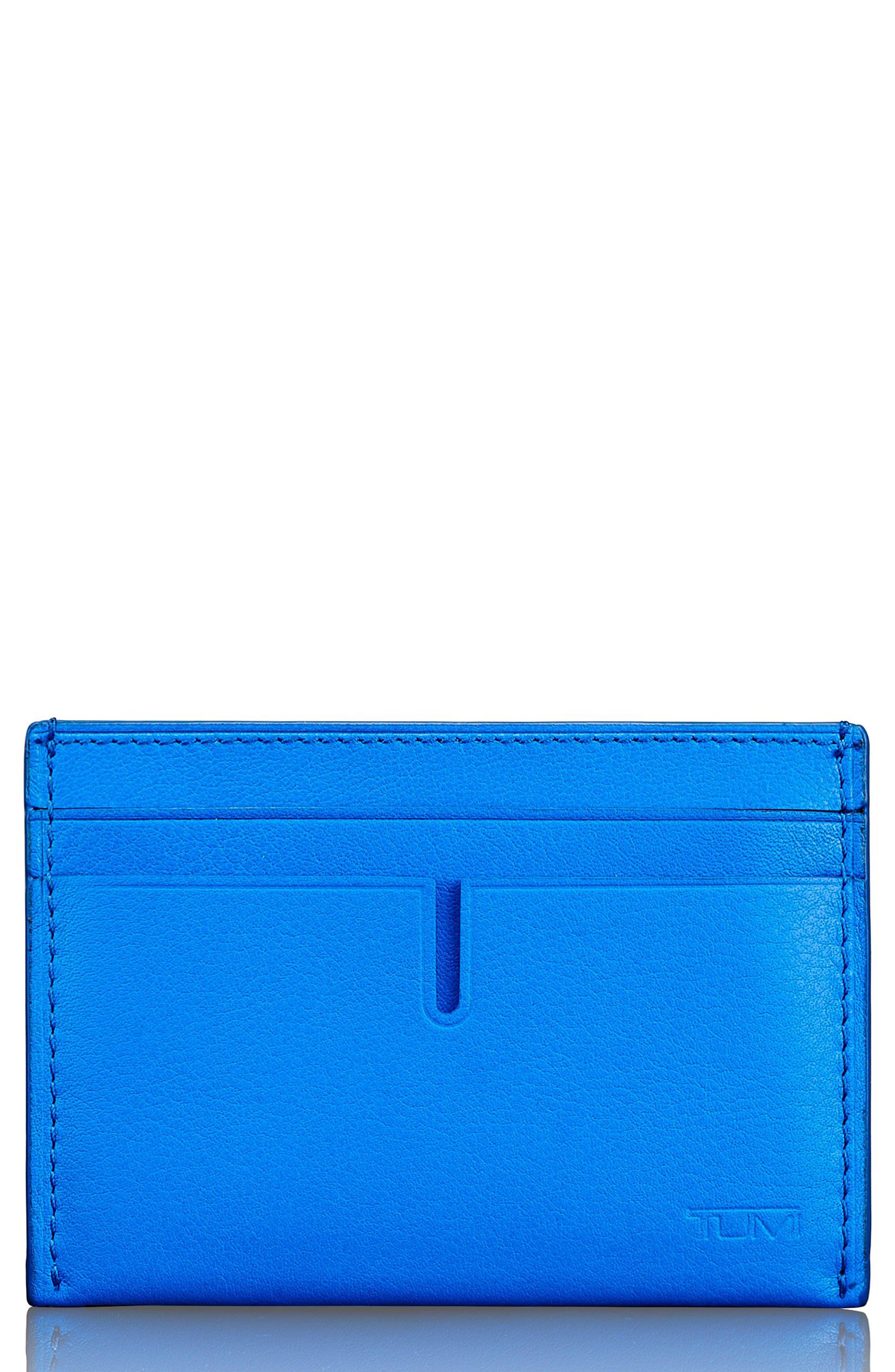 Alternate Image 1 Selected - Tumi Leather Card Case