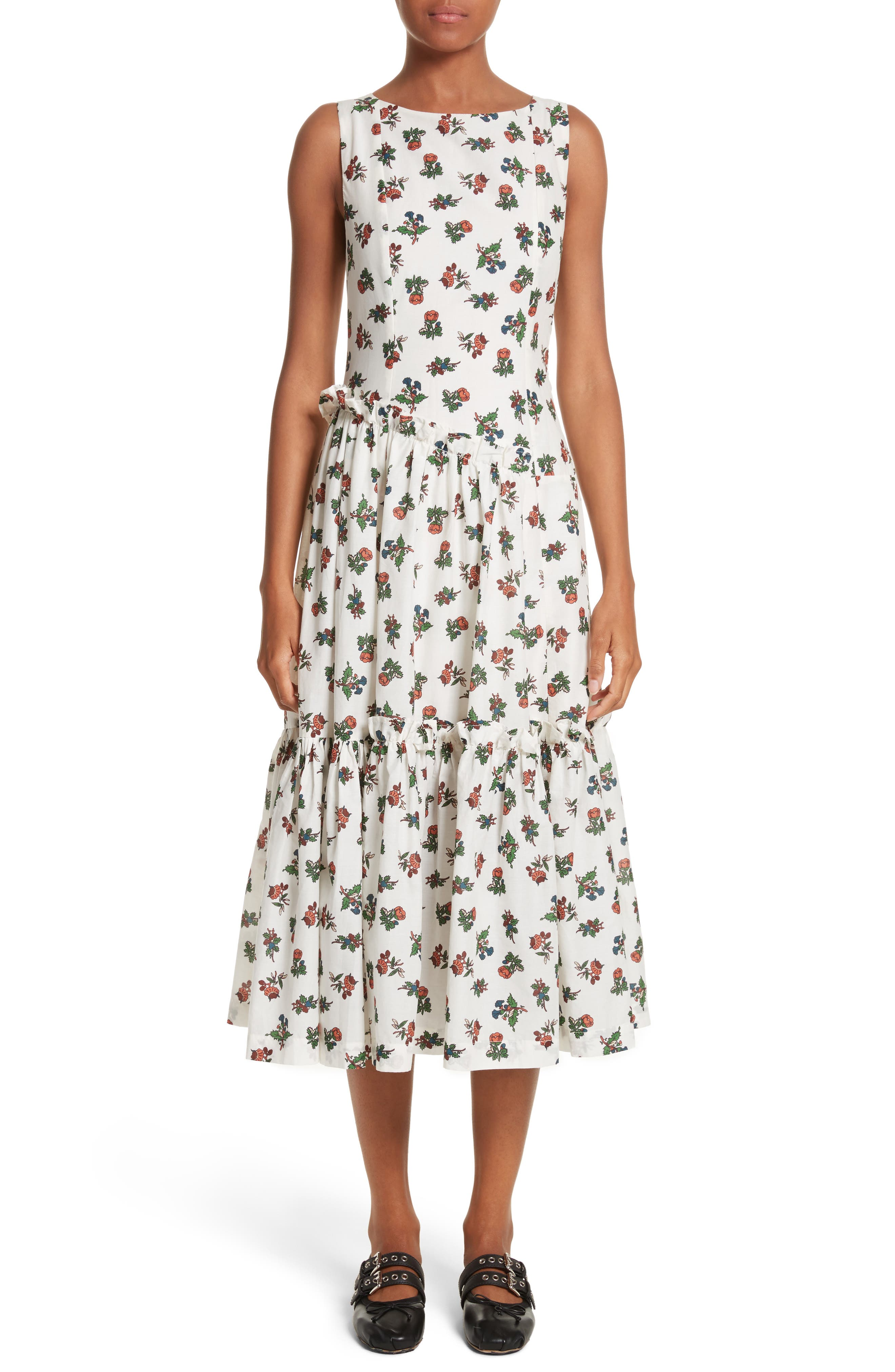Molly Goddard Lexi Sleeveless Dress