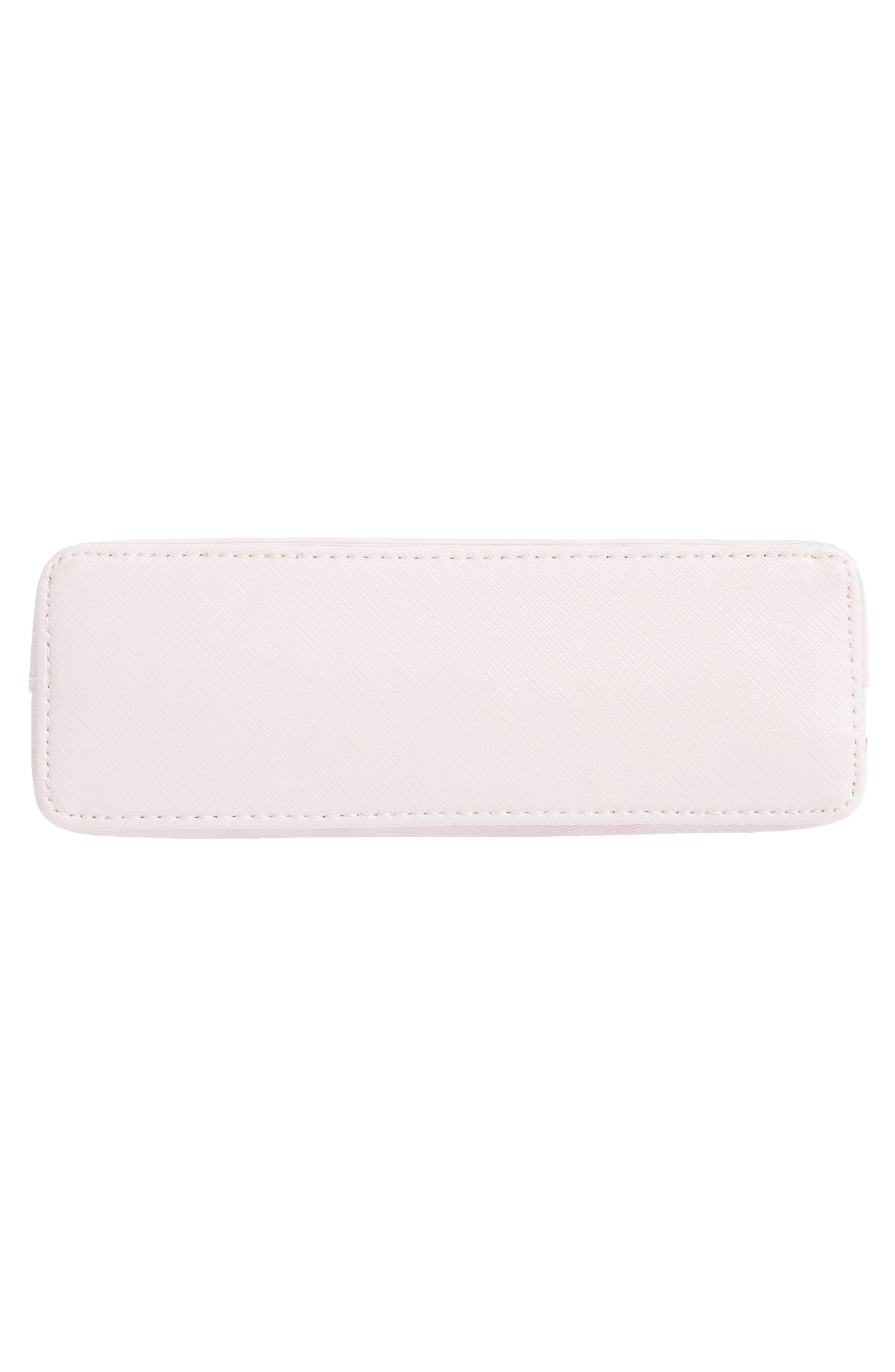 Zandra - Rose Quartz Cosmetics Bag,                             Alternate thumbnail 5, color,                             Nude Pink