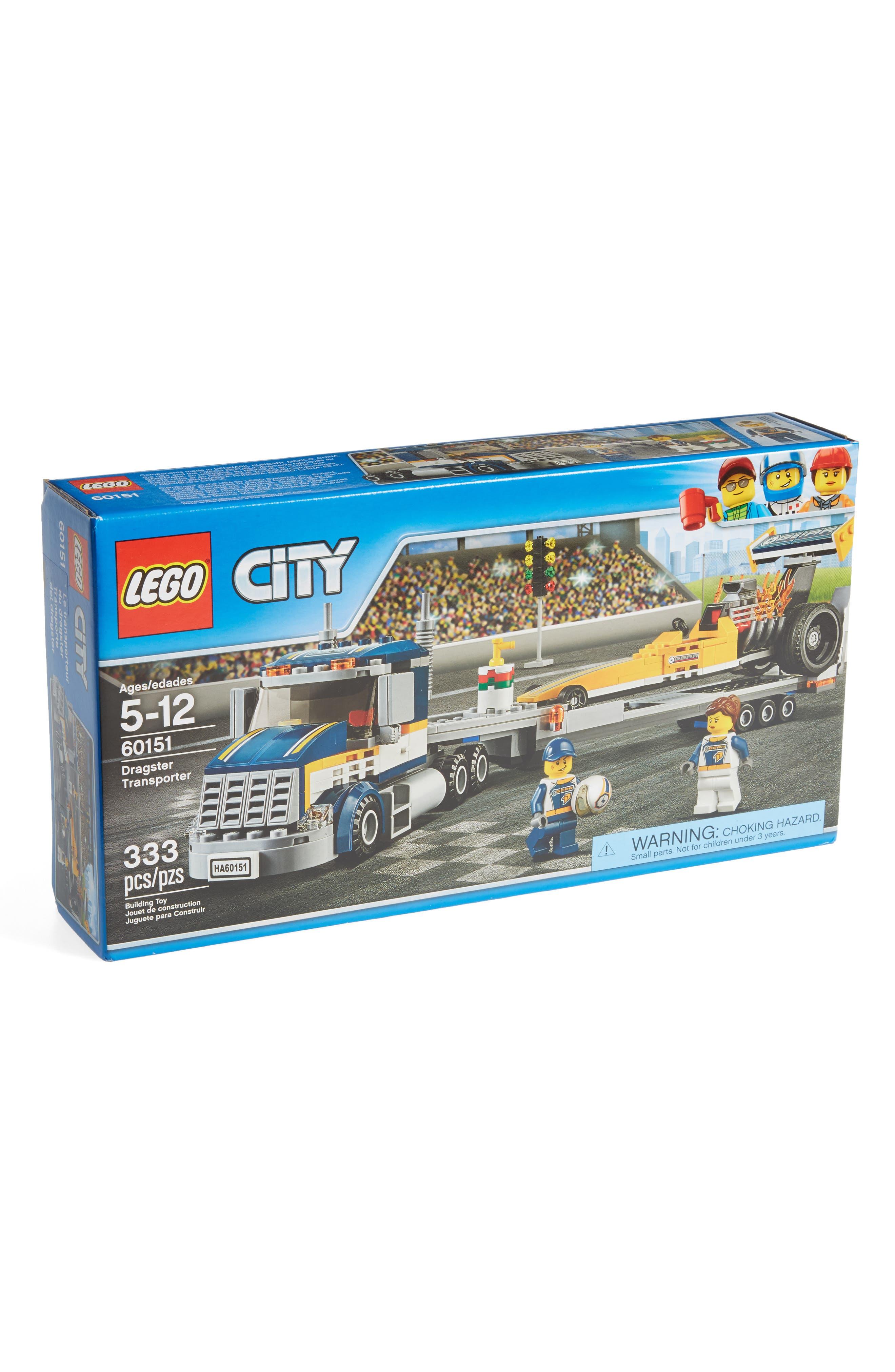 LEGO® City Dragster Transporter - 60151