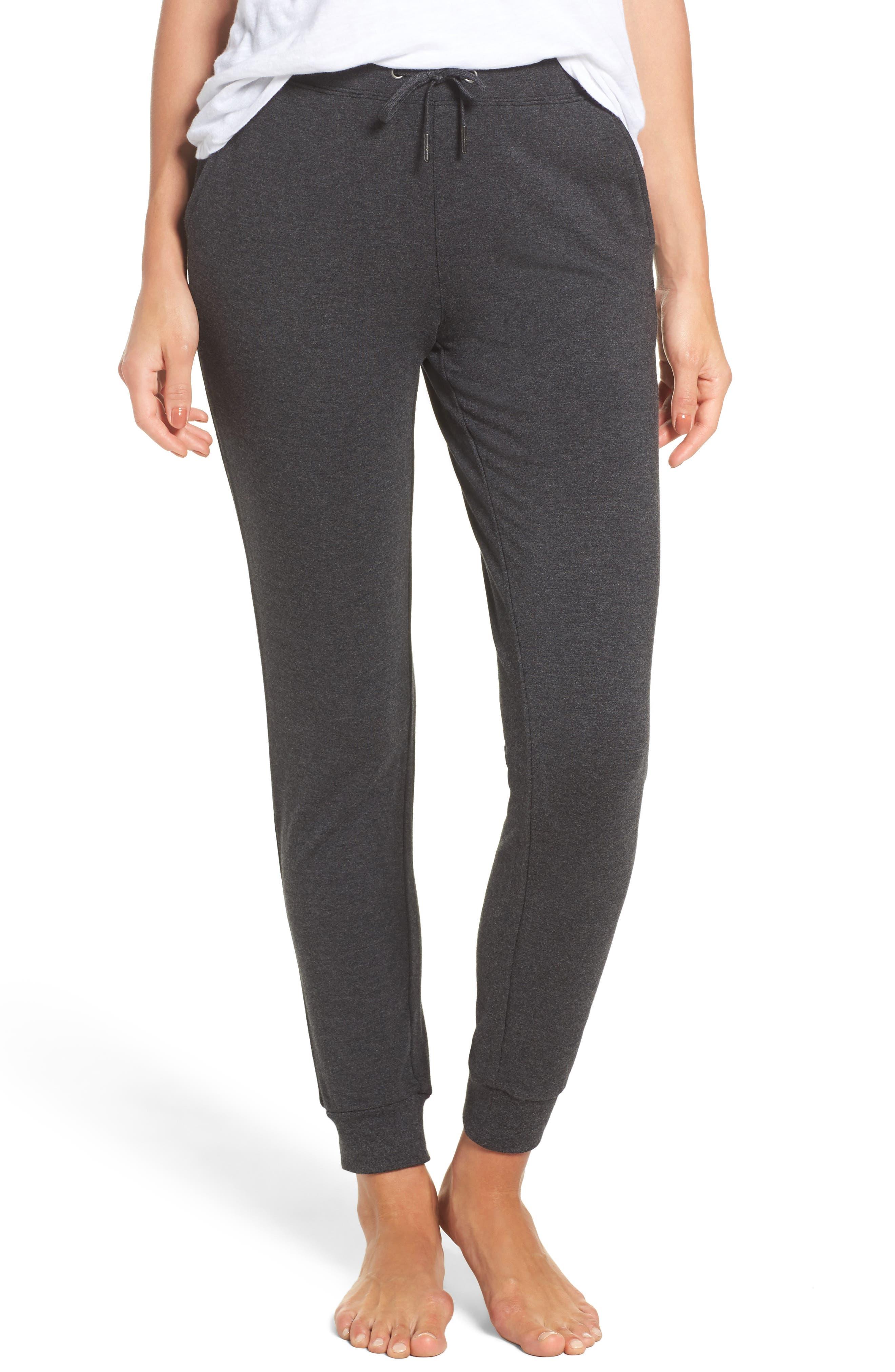 Alternate Image 1 Selected - UGG® Cozy Fleece Jogger Pants