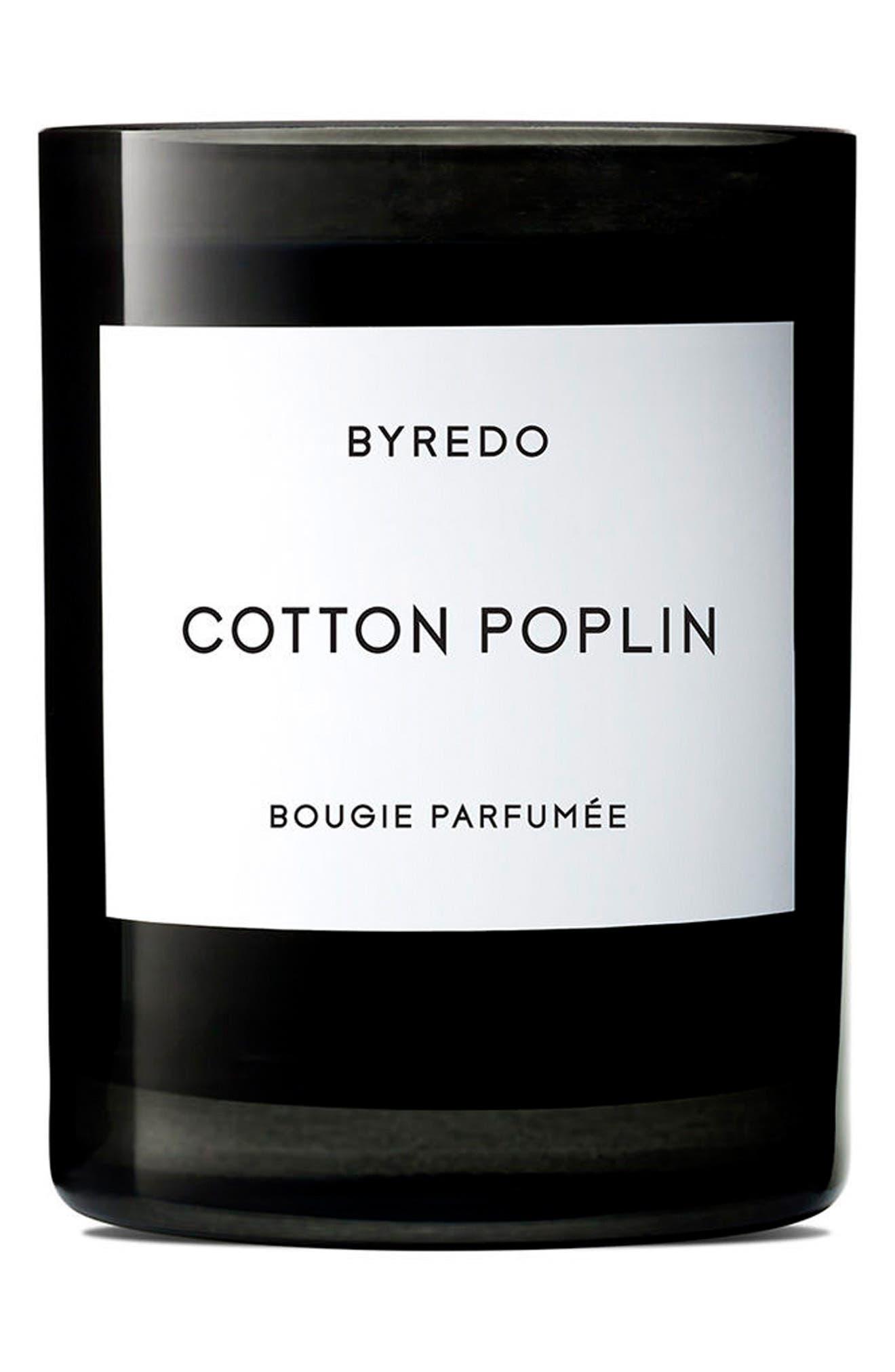 Main Image - BYREDO Cotton Poplin Candle