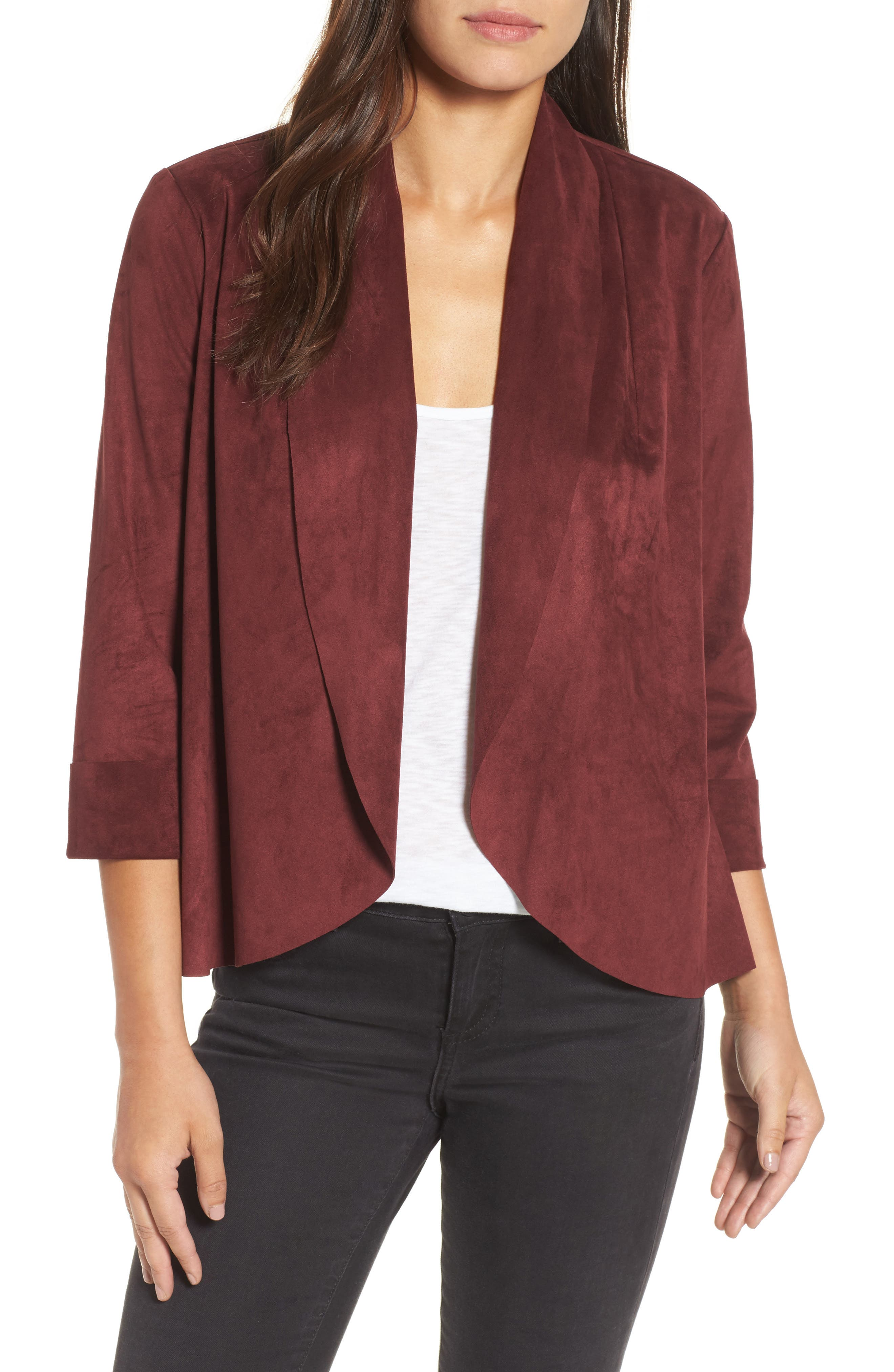 KUT from The Kloth Faux Suede Jacket