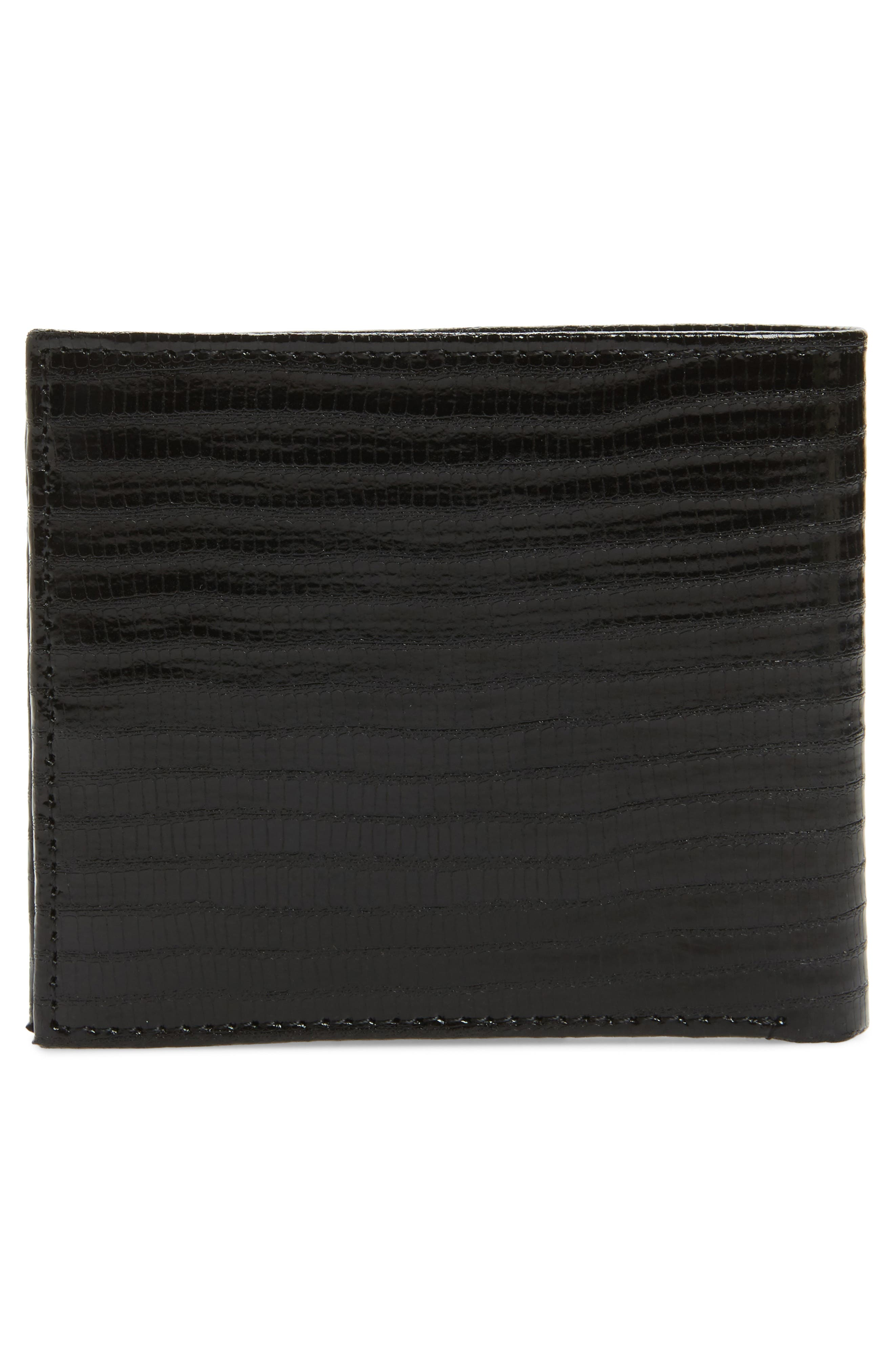 Slayts Leather Wallet,                             Alternate thumbnail 3, color,                             Black