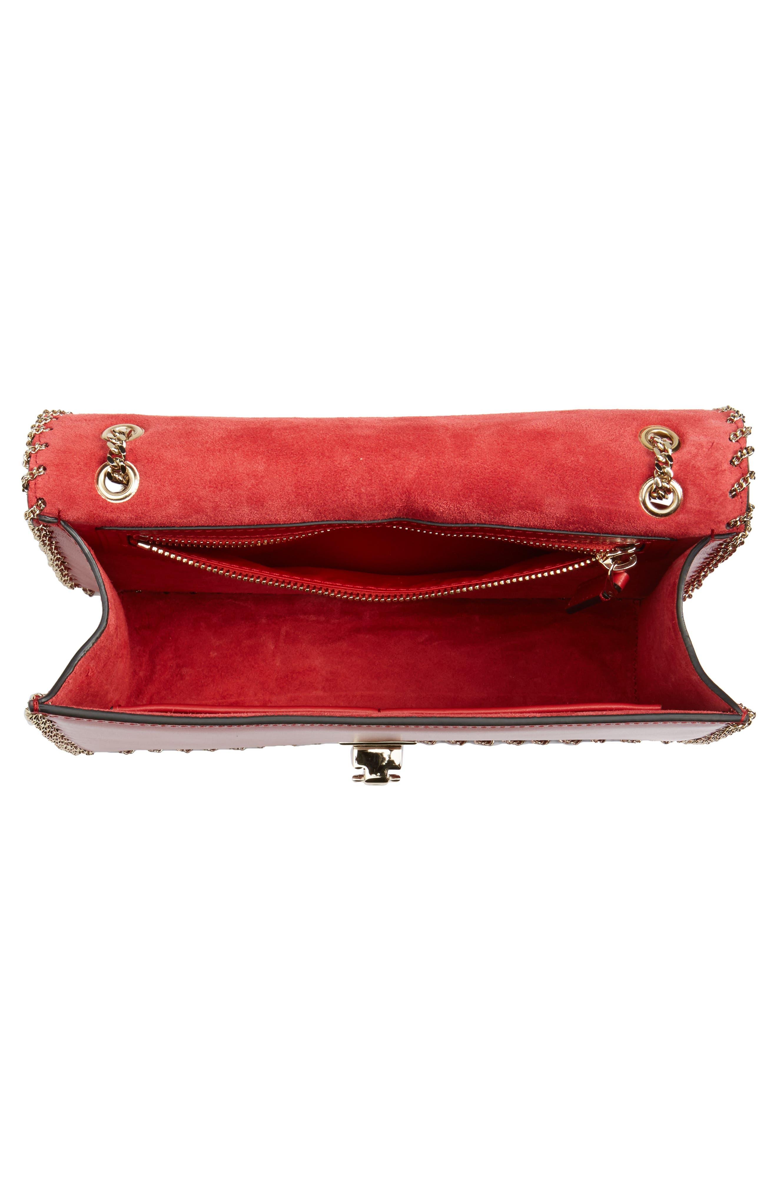 Alternate Image 3  - VALENTINO GARAVANI Demilune Whipstitch Leather Shoulder Bag