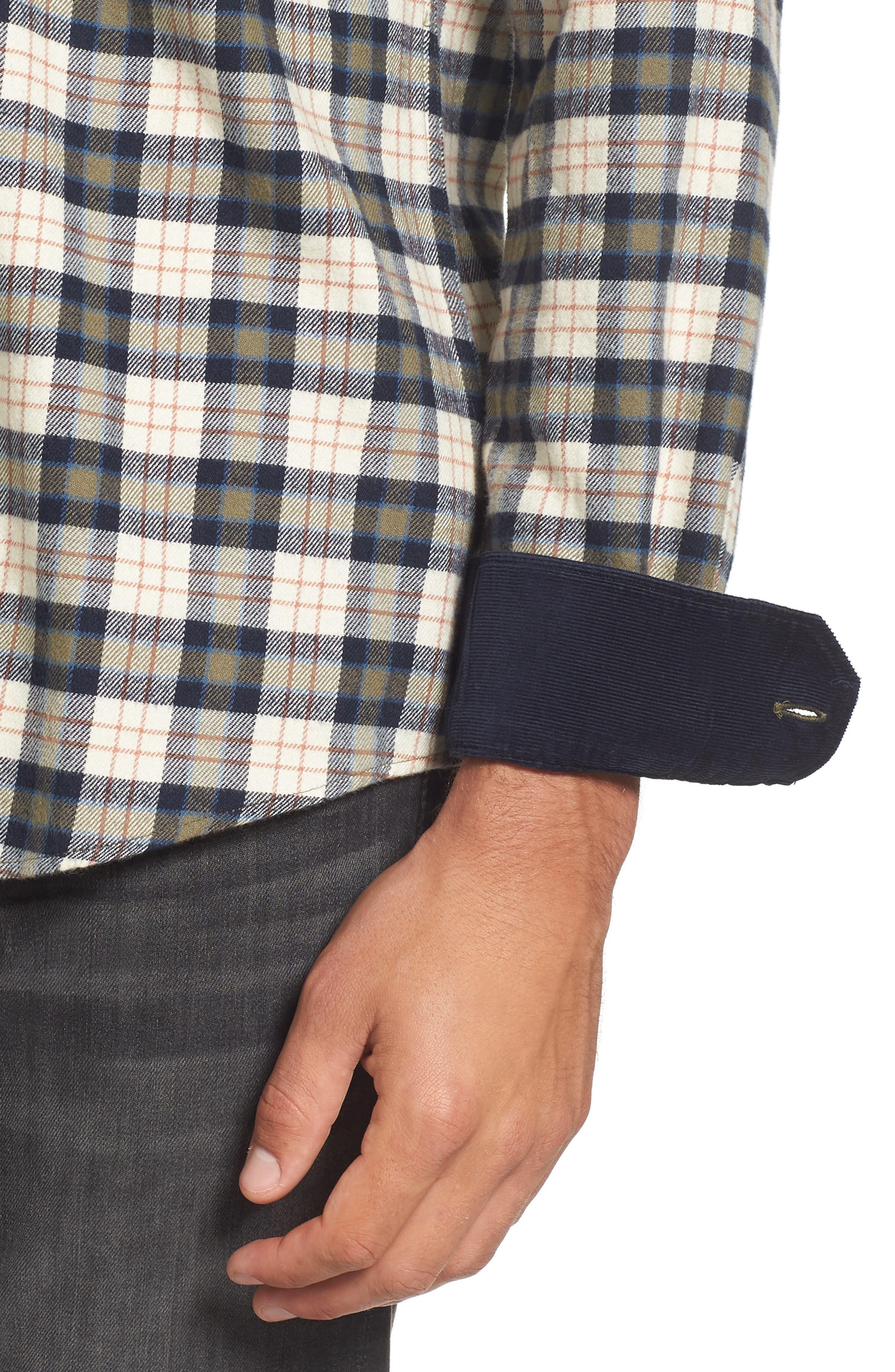 Alternate Image 4  - Barbour Blake Plaid Sport Shirt