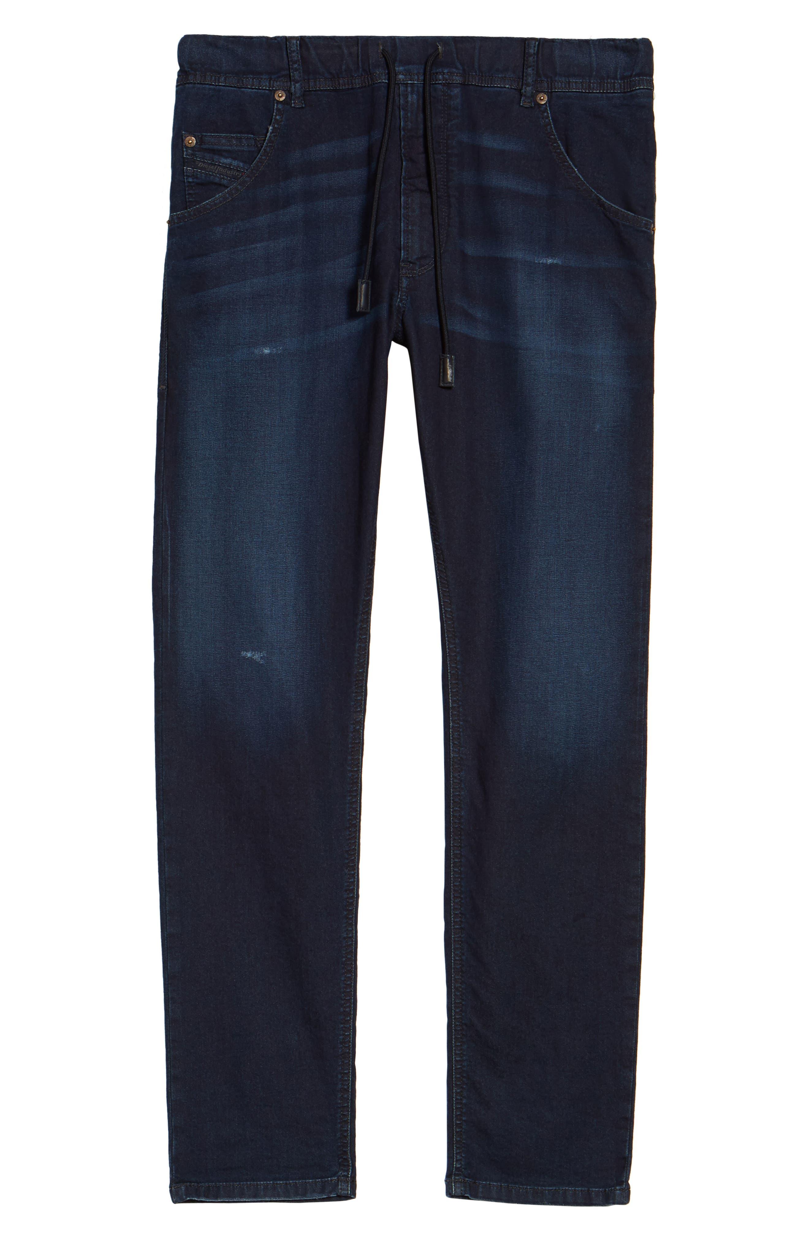 Alternate Image 6  - DIESEL® Krooley Slouchy Skinny Jeans