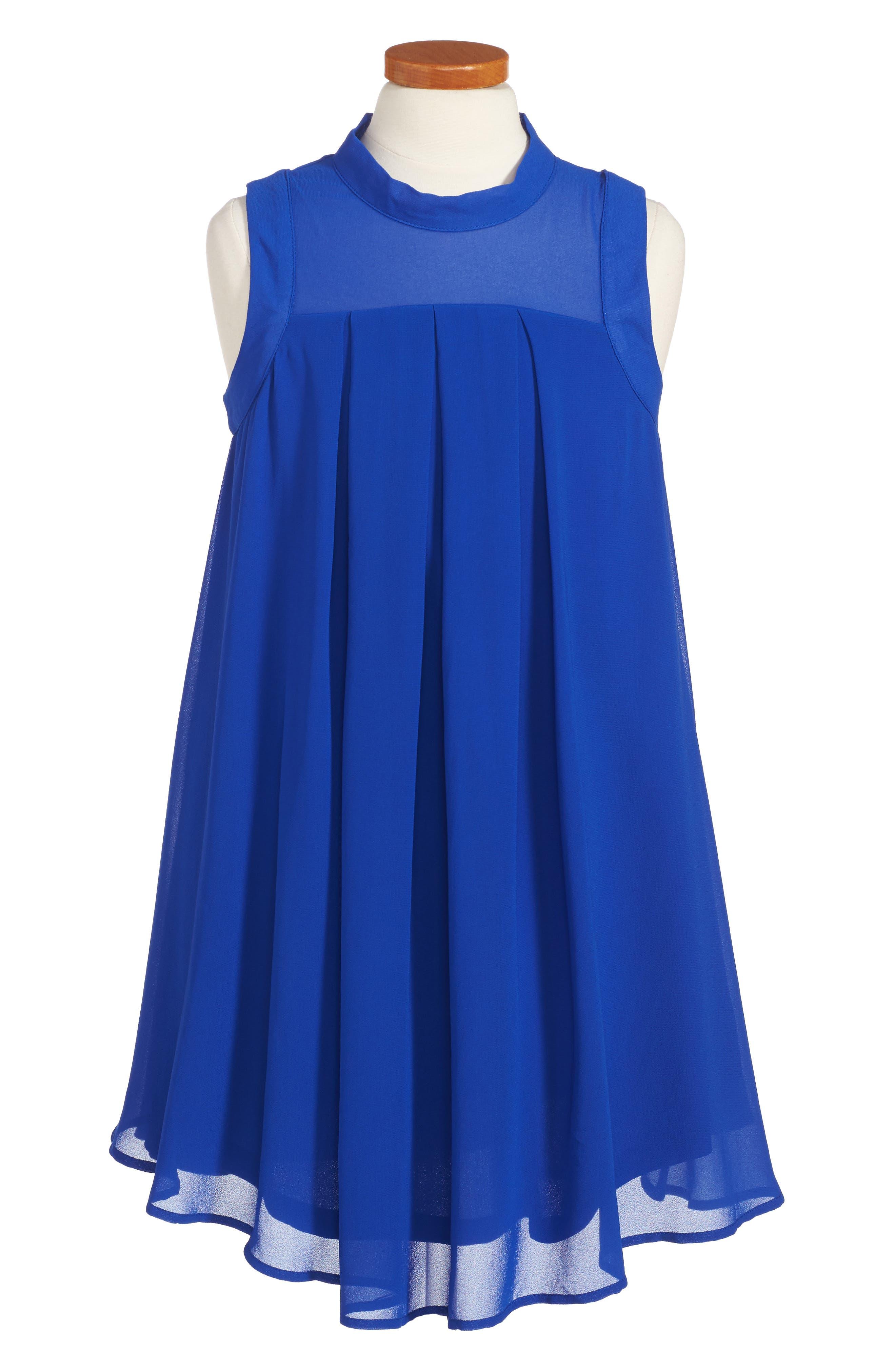 Jackie Shift Dress,                         Main,                         color, Royal