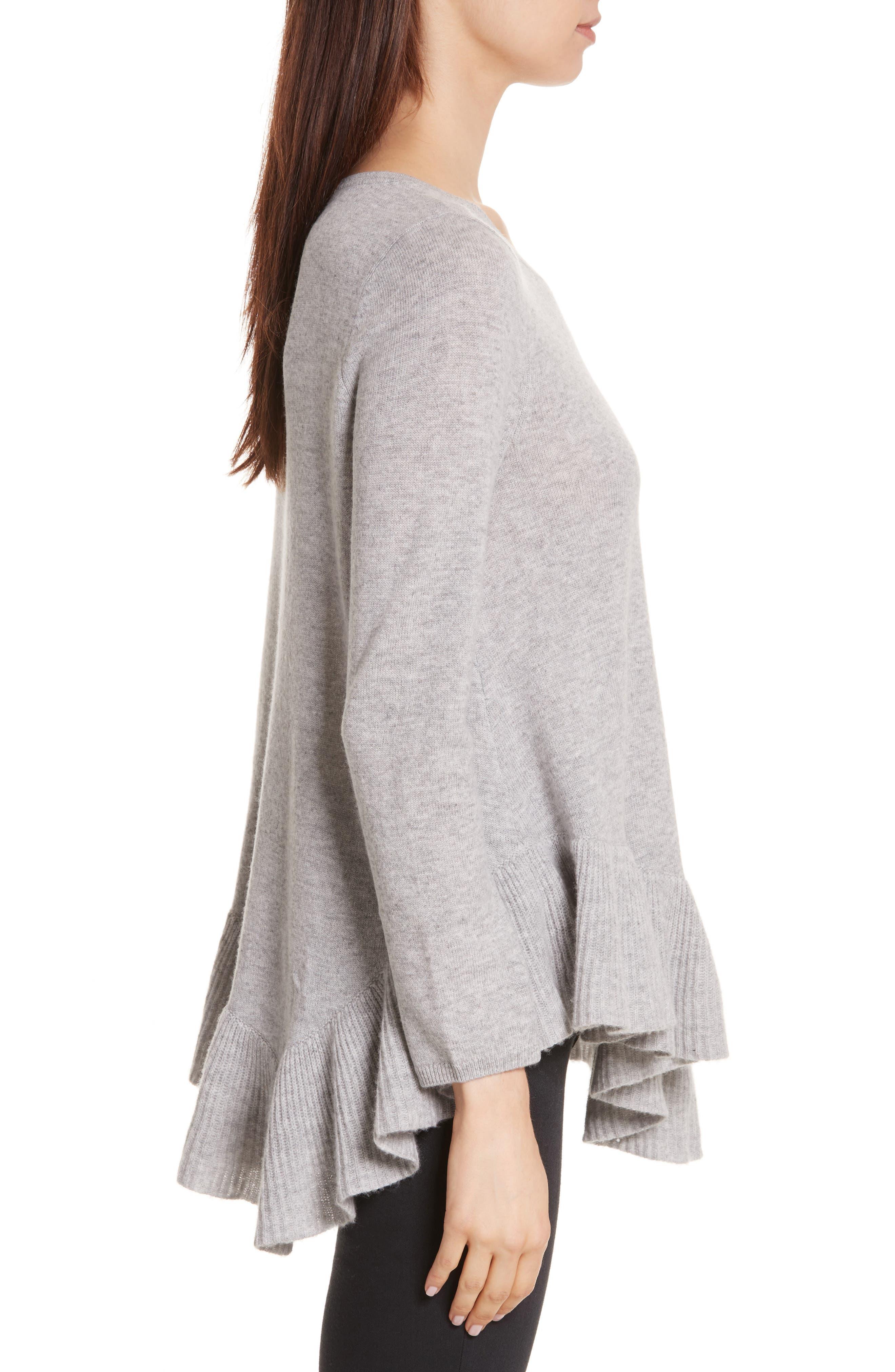 Alternate Image 3  - Joie Tambrel N Wool & Cashmere Asymmetrical Sweater Tunic