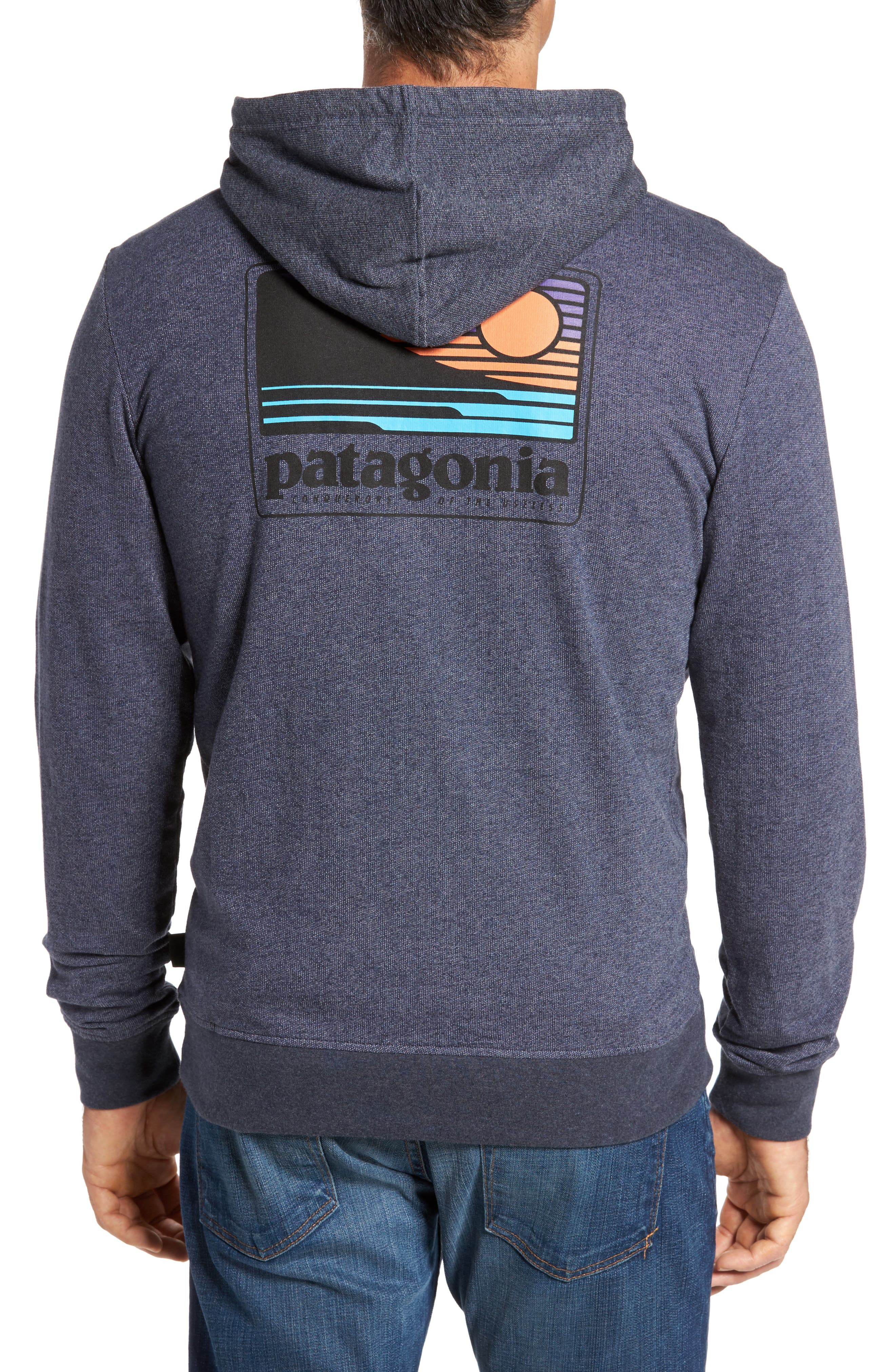 Alternate Image 2  - Patagonia Up & Out Lightweight Zip Hoodie