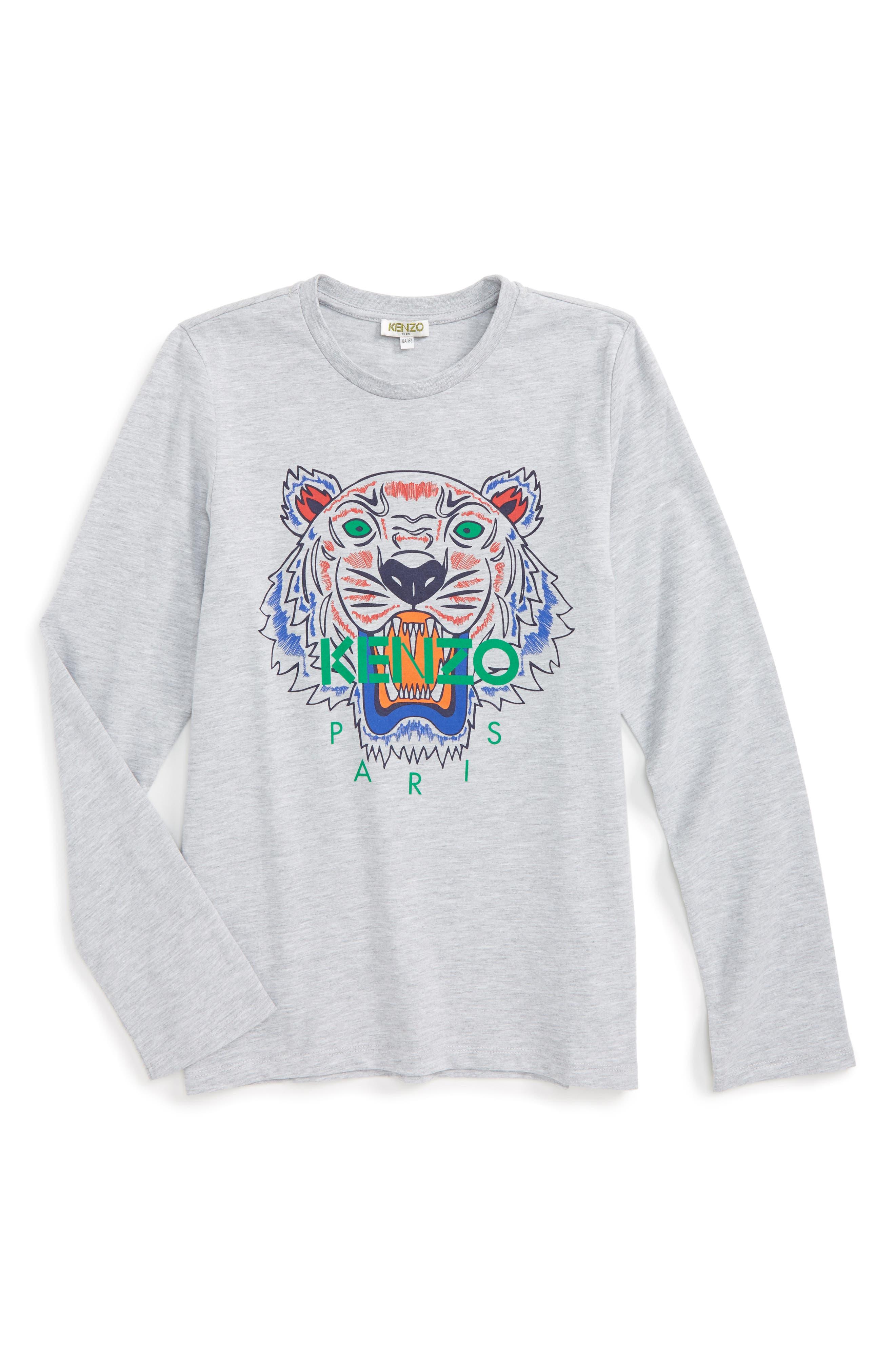 KENZO Tiger T-Shirt (Toddler Boys, Little Boys & Big Boys)