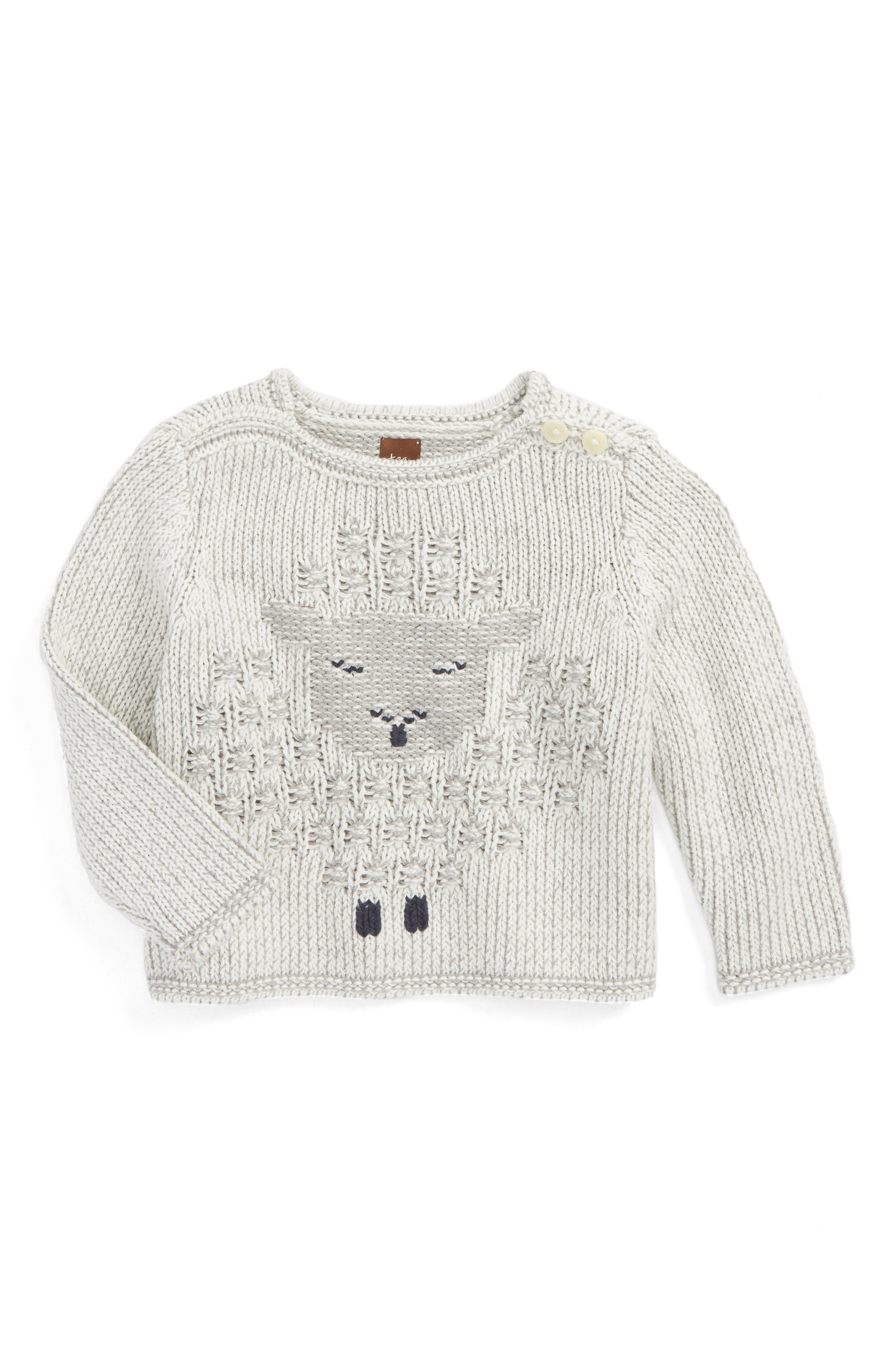 Main Image - Tea Collection Uan Sweater (Toddler Girls)