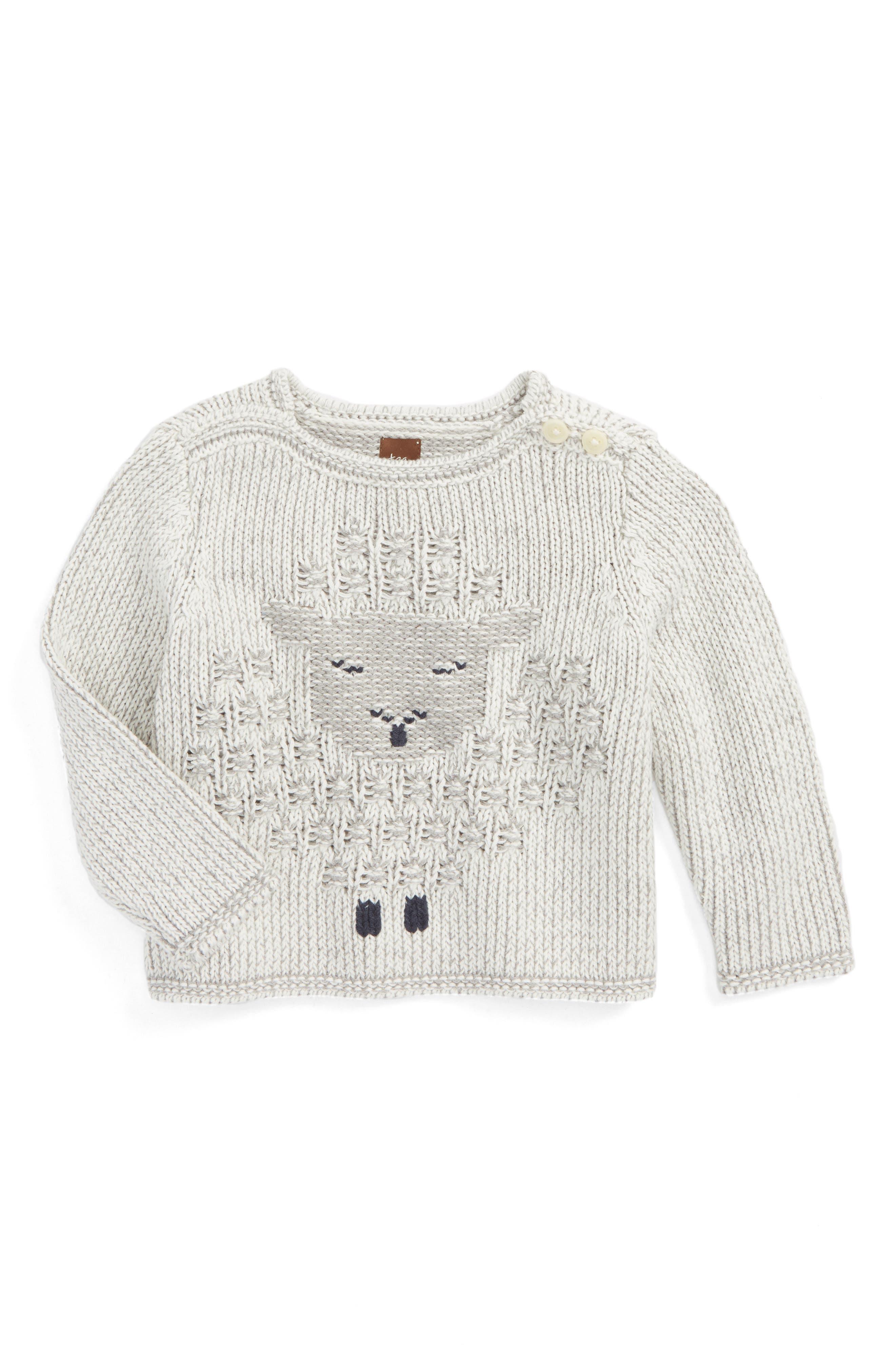 Uan Sweater,                         Main,                         color, Chalk