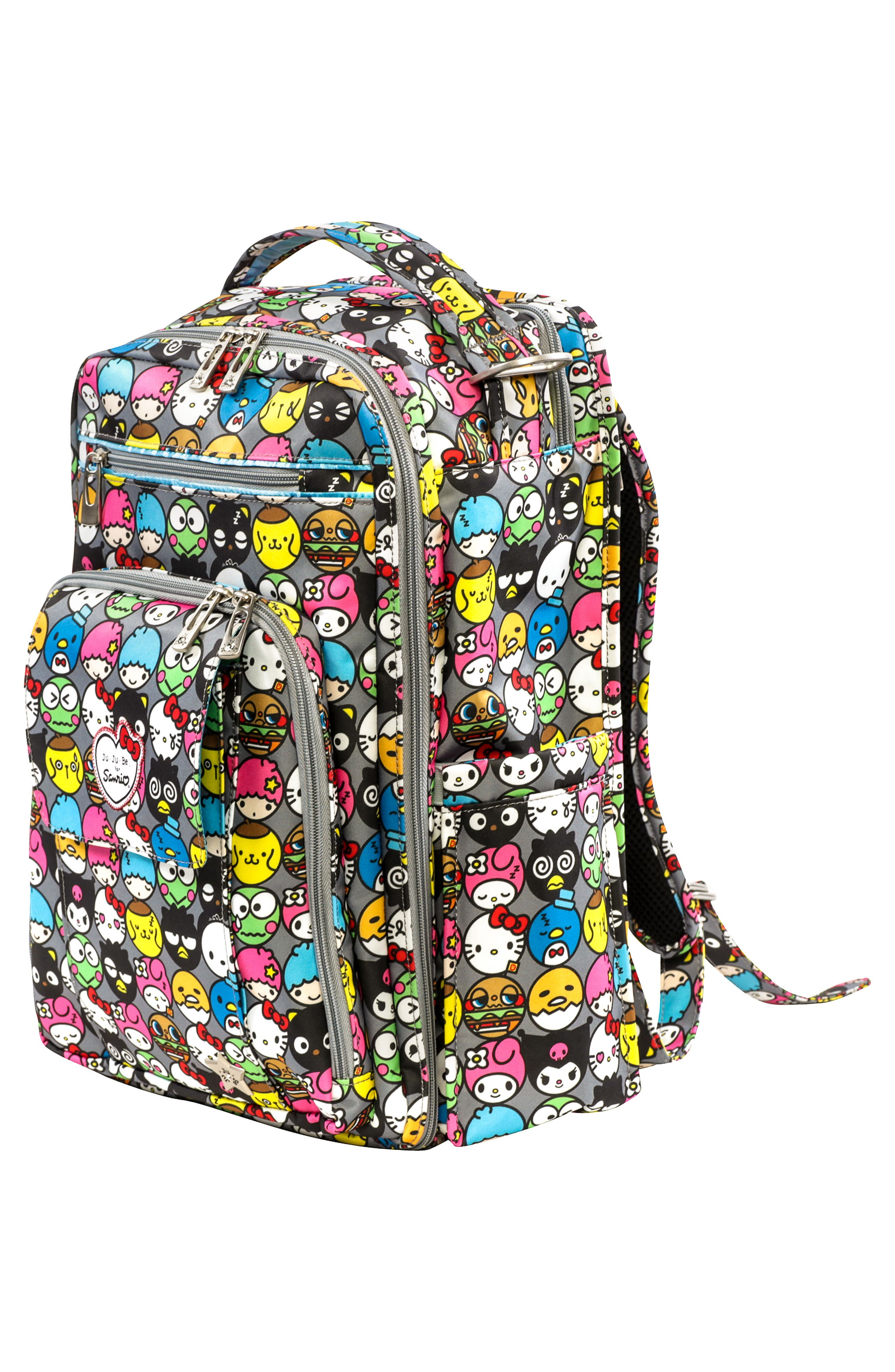 for Hello Kitty<sup>®</sup> 'Be Right Back' Diaper Backpack,                             Alternate thumbnail 3, color,                             Hello Friends