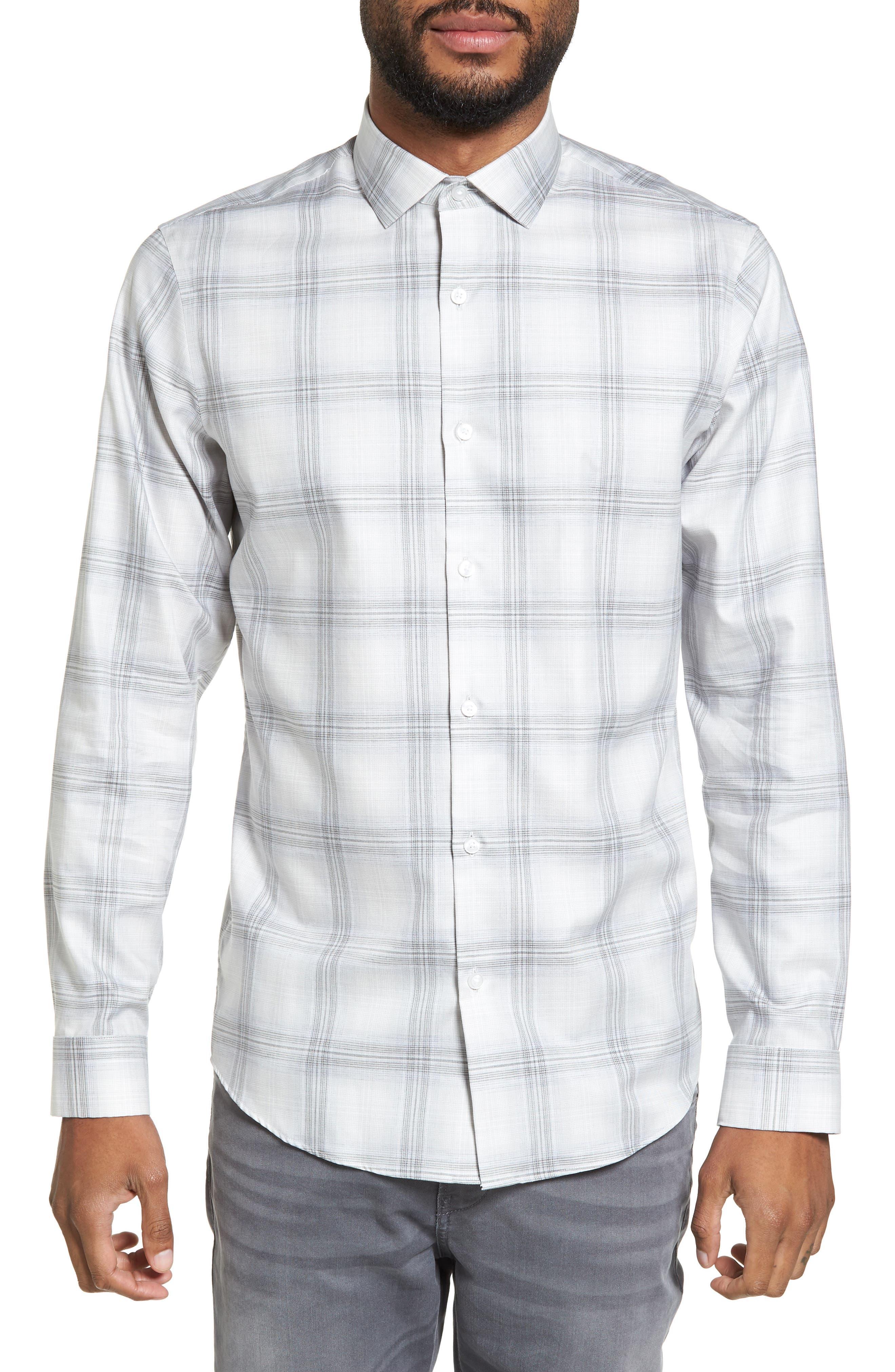 Calibrate Ombré Check Sport Shirt