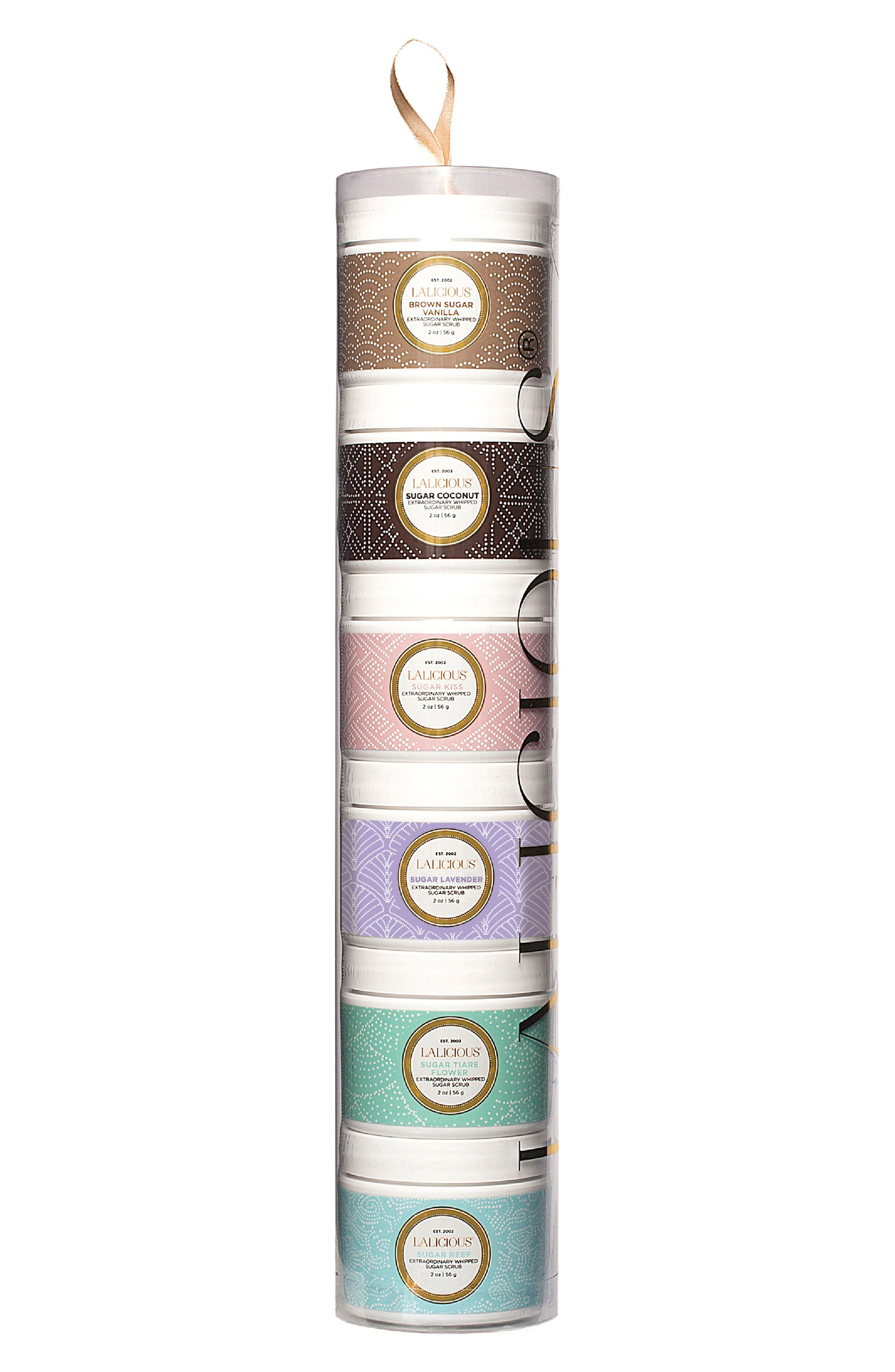 Alternate Image 1 Selected - LALICIOUS Sugar Scrub Tower Collection (Nordstrom Exclusive) ($57 Value)