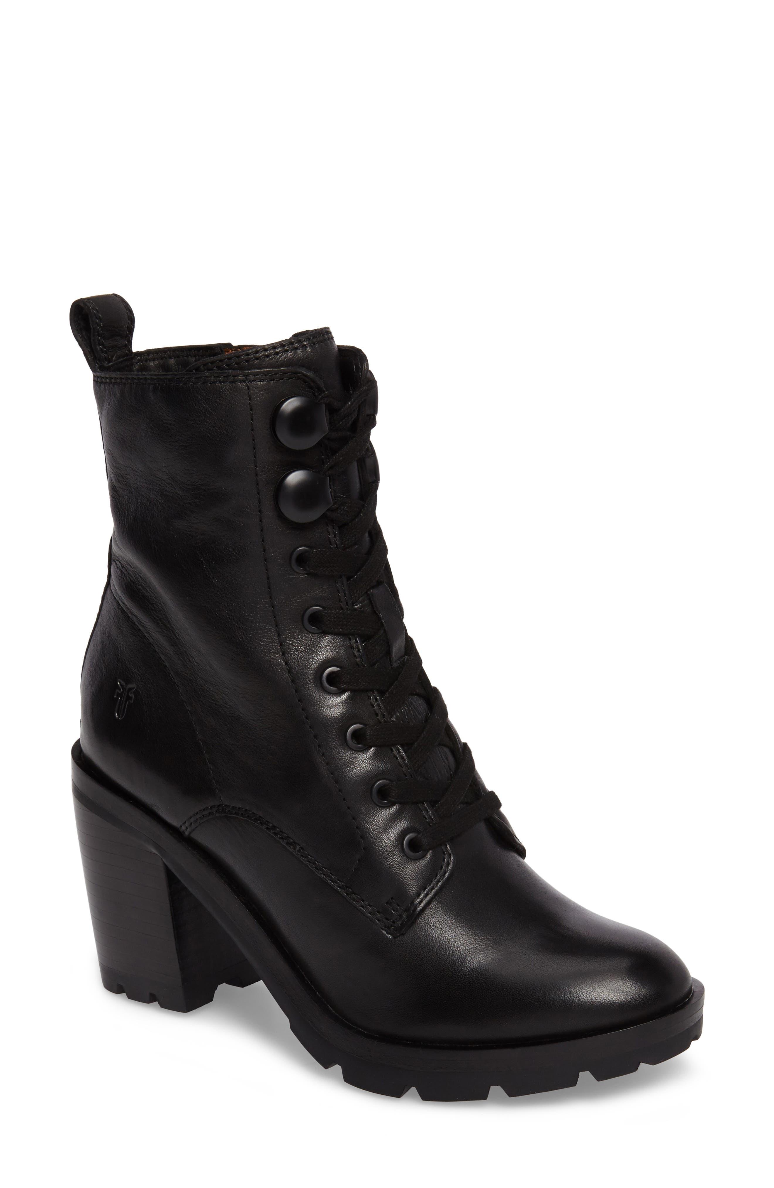 Frye Myra Lug Combat Boot (Women)