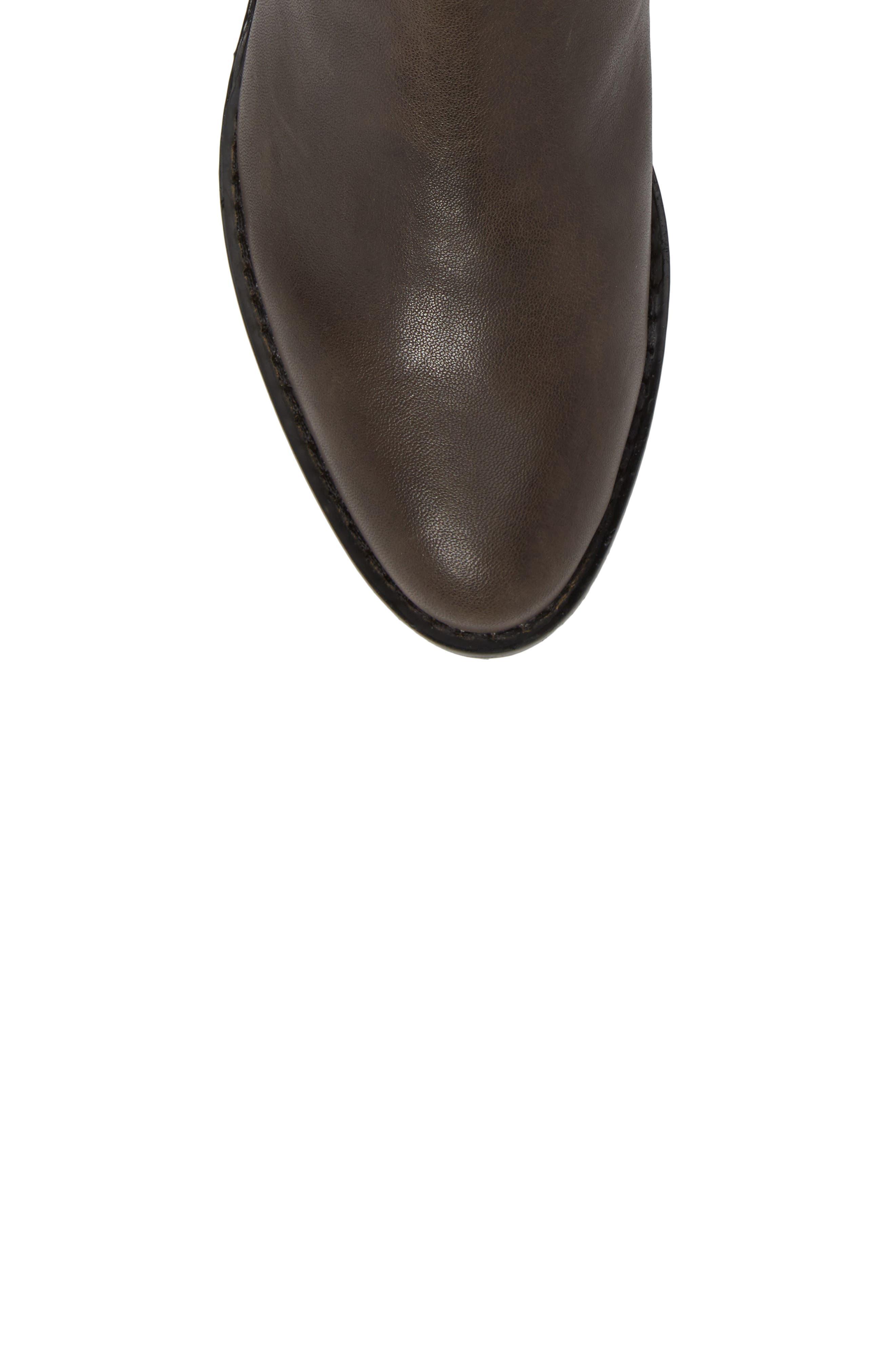 CC Corso Como Armando Boot,                             Alternate thumbnail 5, color,                             Dark Grey Leather