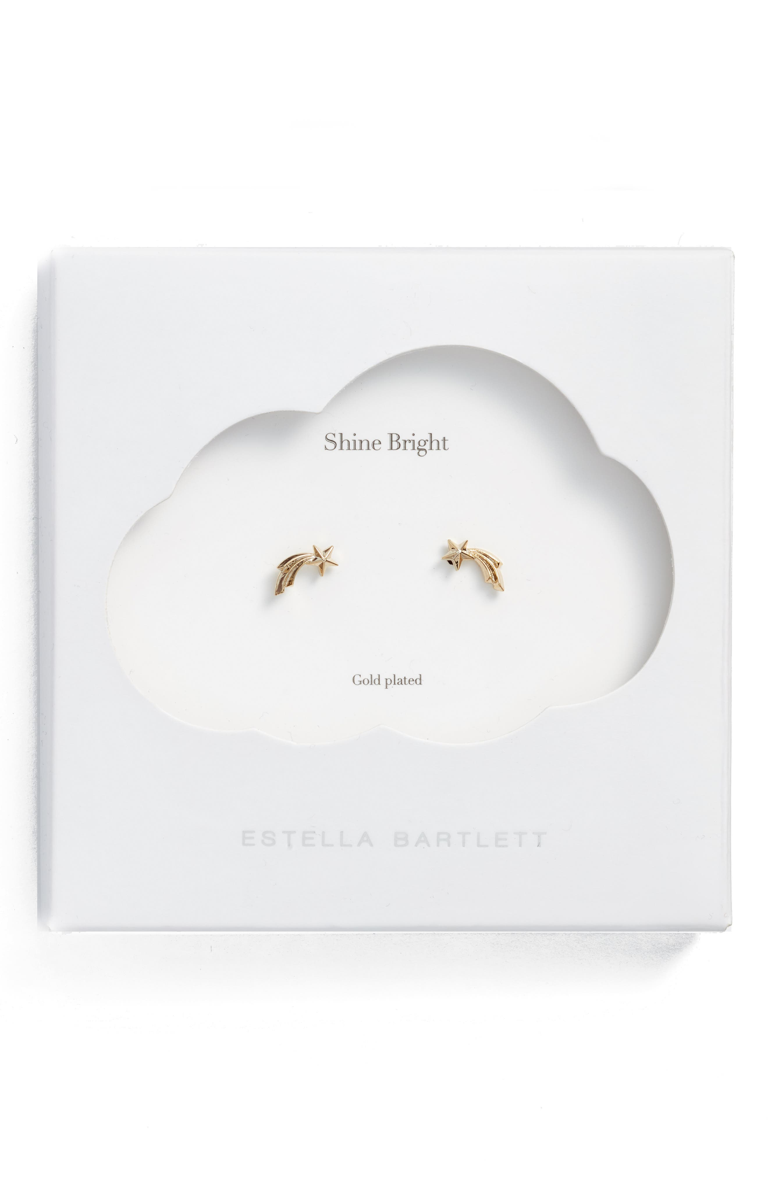 Alternate Image 2  - Estella Bartlett Shooting Star Stud Earrings