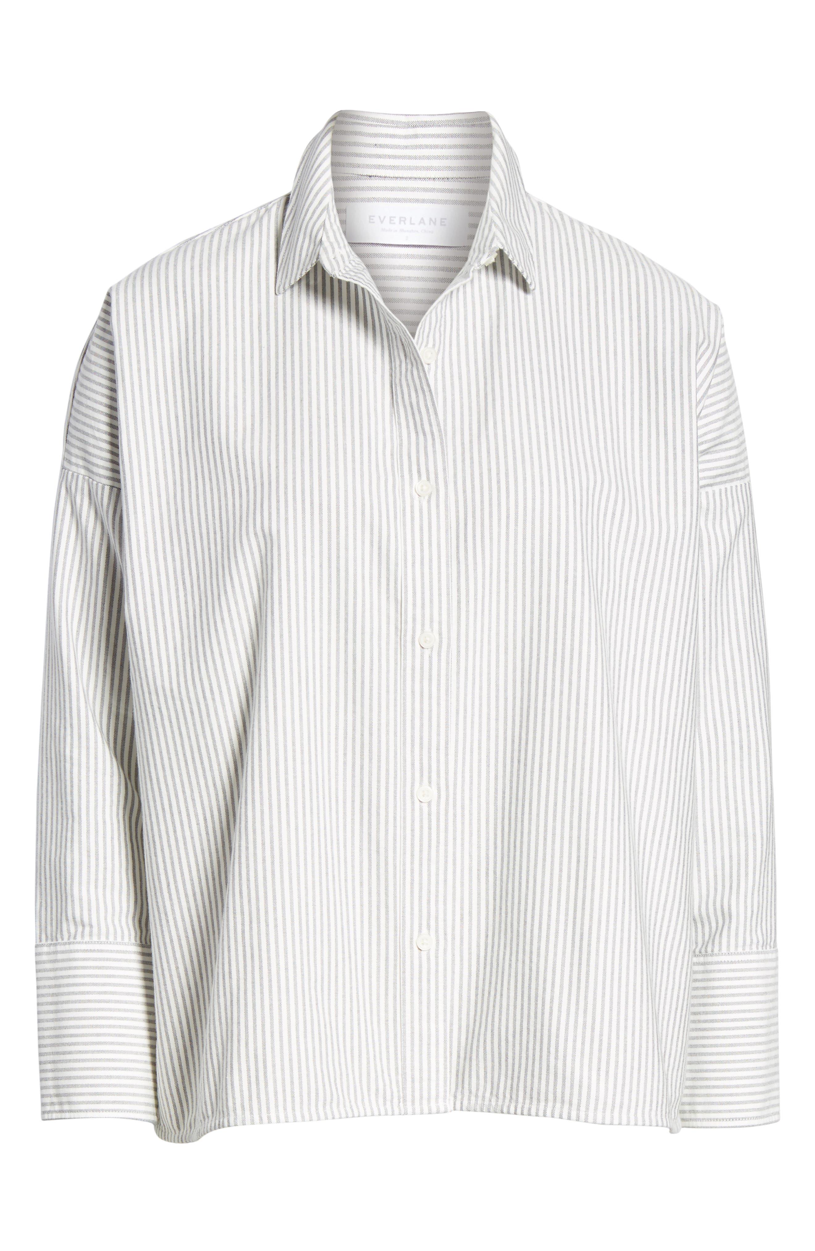 Alternate Image 5  - Everlane The Japanese Oxford Square Shirt