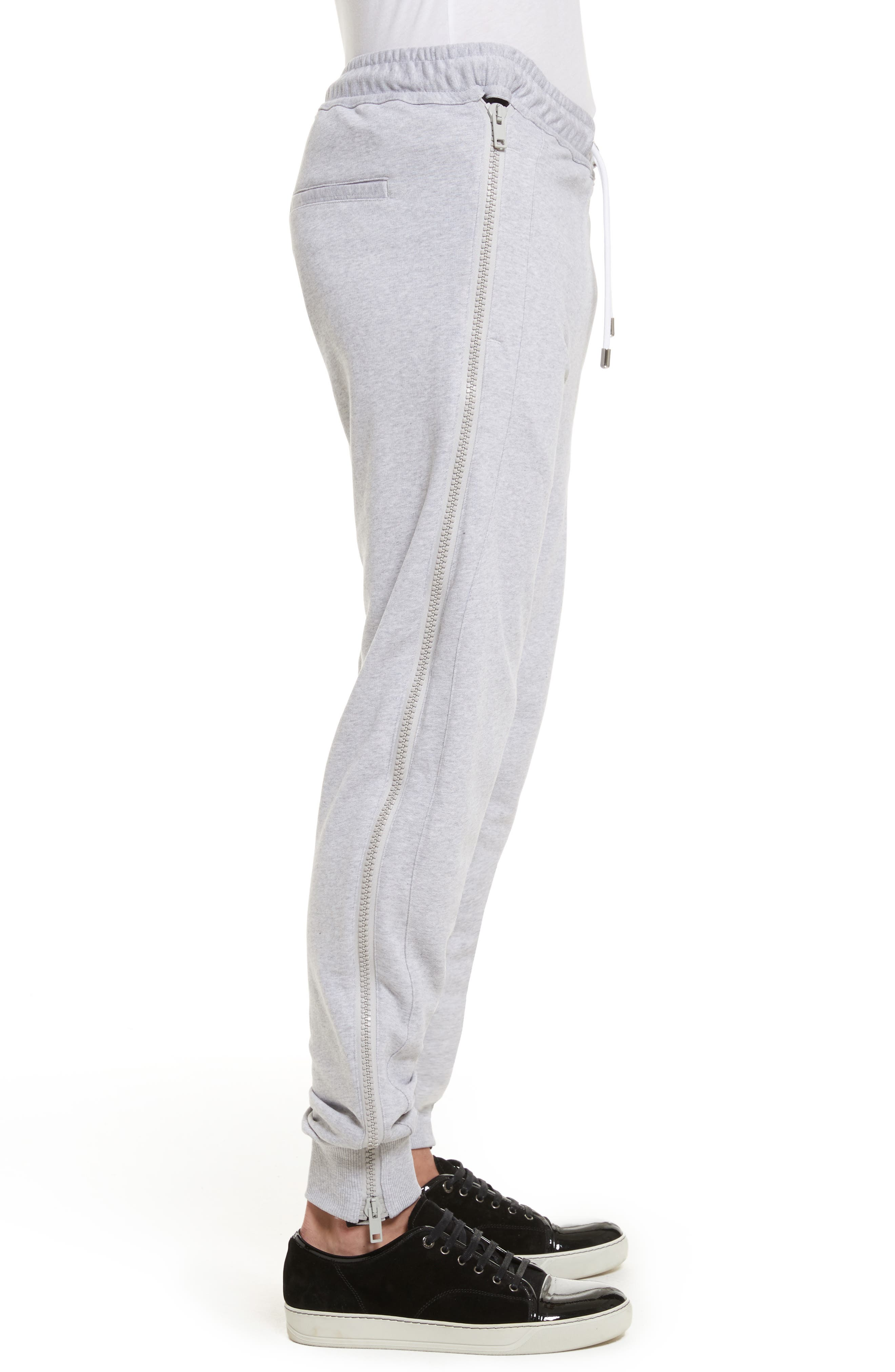 Alternate Image 3  - VERSUS by Versace Side Zip Sweatpants
